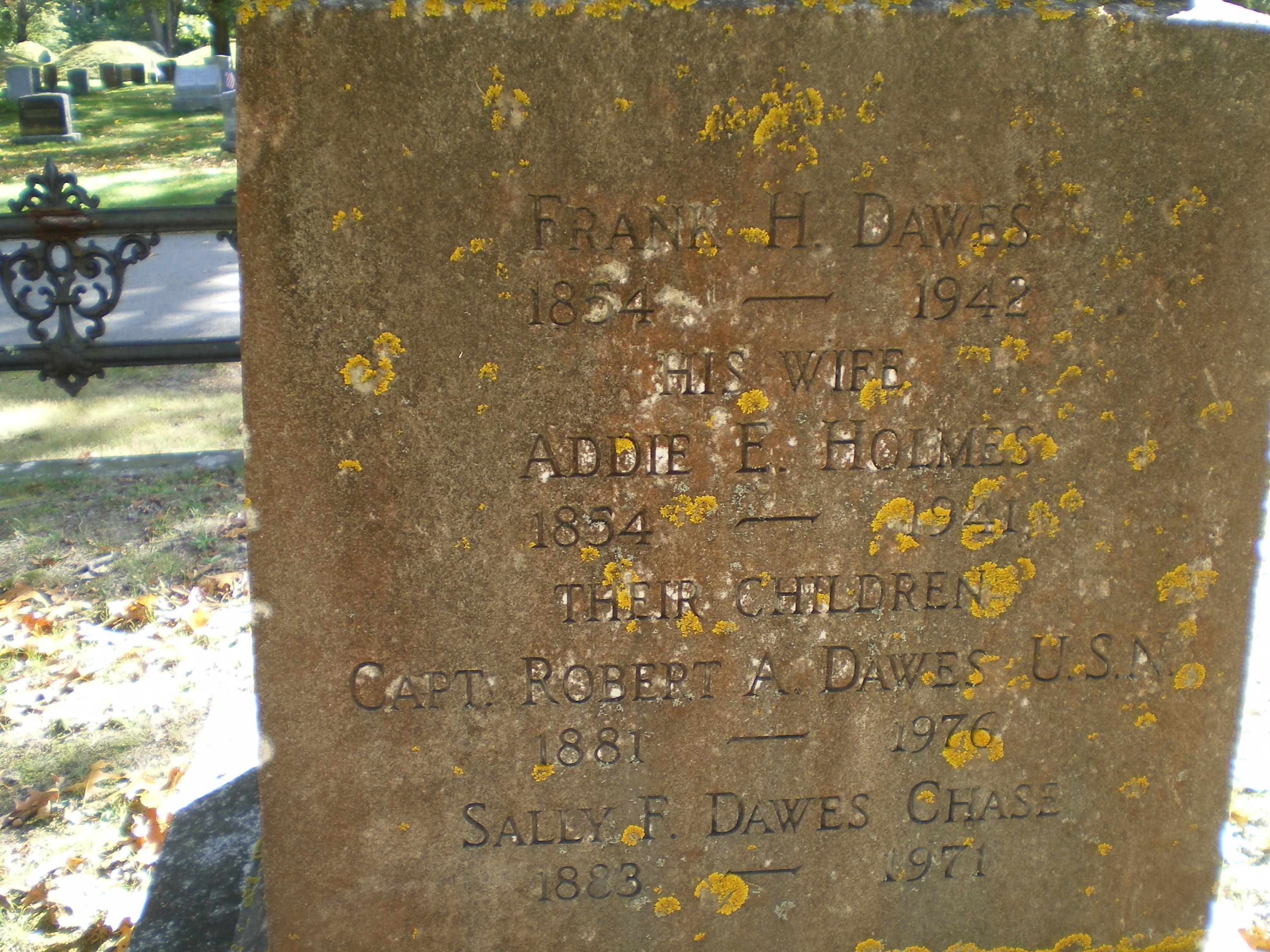 Addie E. <i>Holmes</i> Dawes