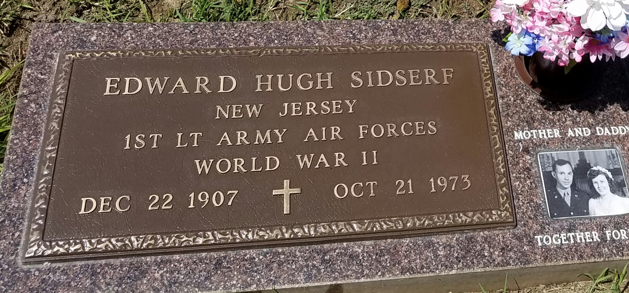 "Edward Hugh James ""Sid"" Sidserf (1907-1973) - Find A Grave Memorial"
