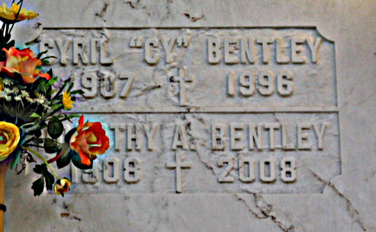 Cyril Martin Cy Bentley