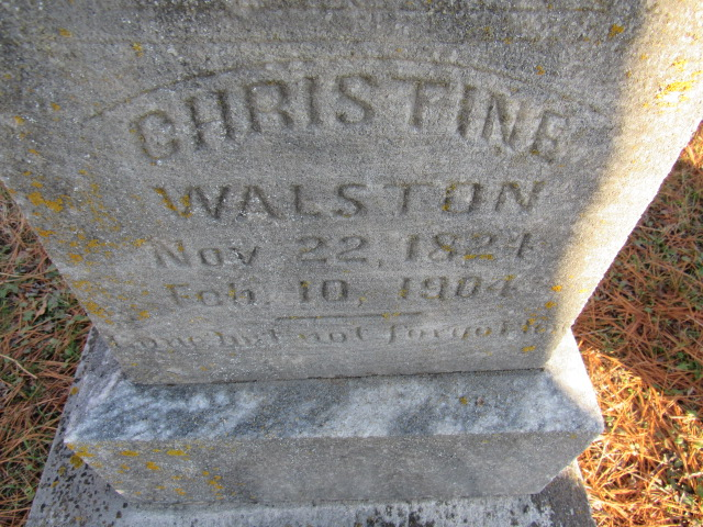 Christine <i>Railey</i> Walston