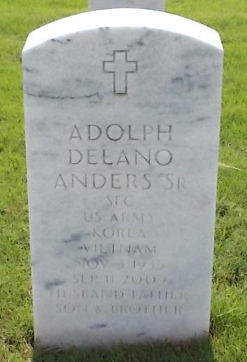 Adolph Delano Anders, Sr