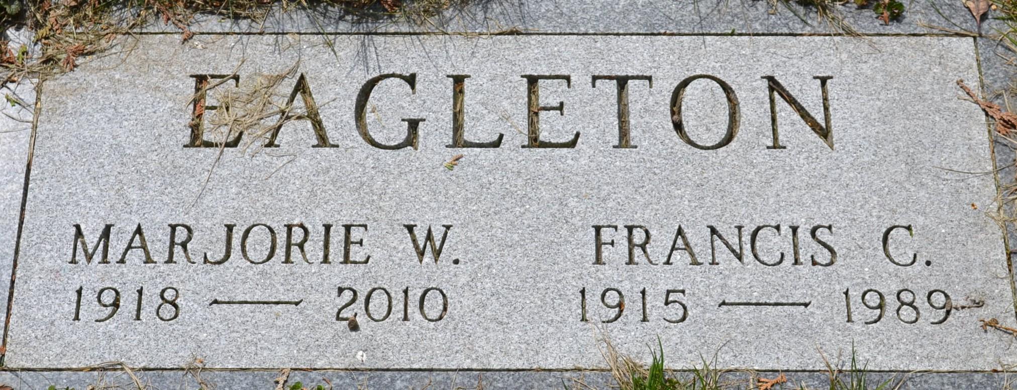 Marjorie Frances <i>Woolever</i> Eagleton