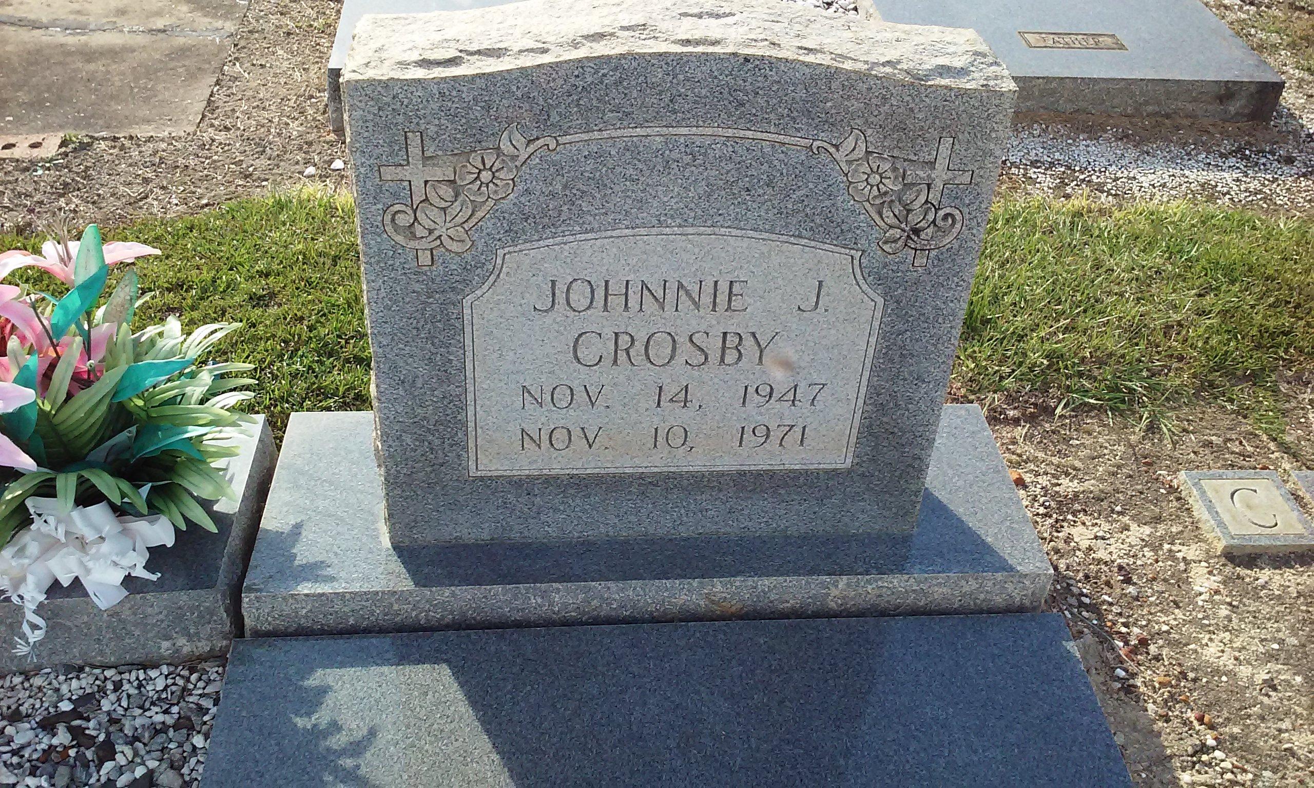 Johnnie J Crosby
