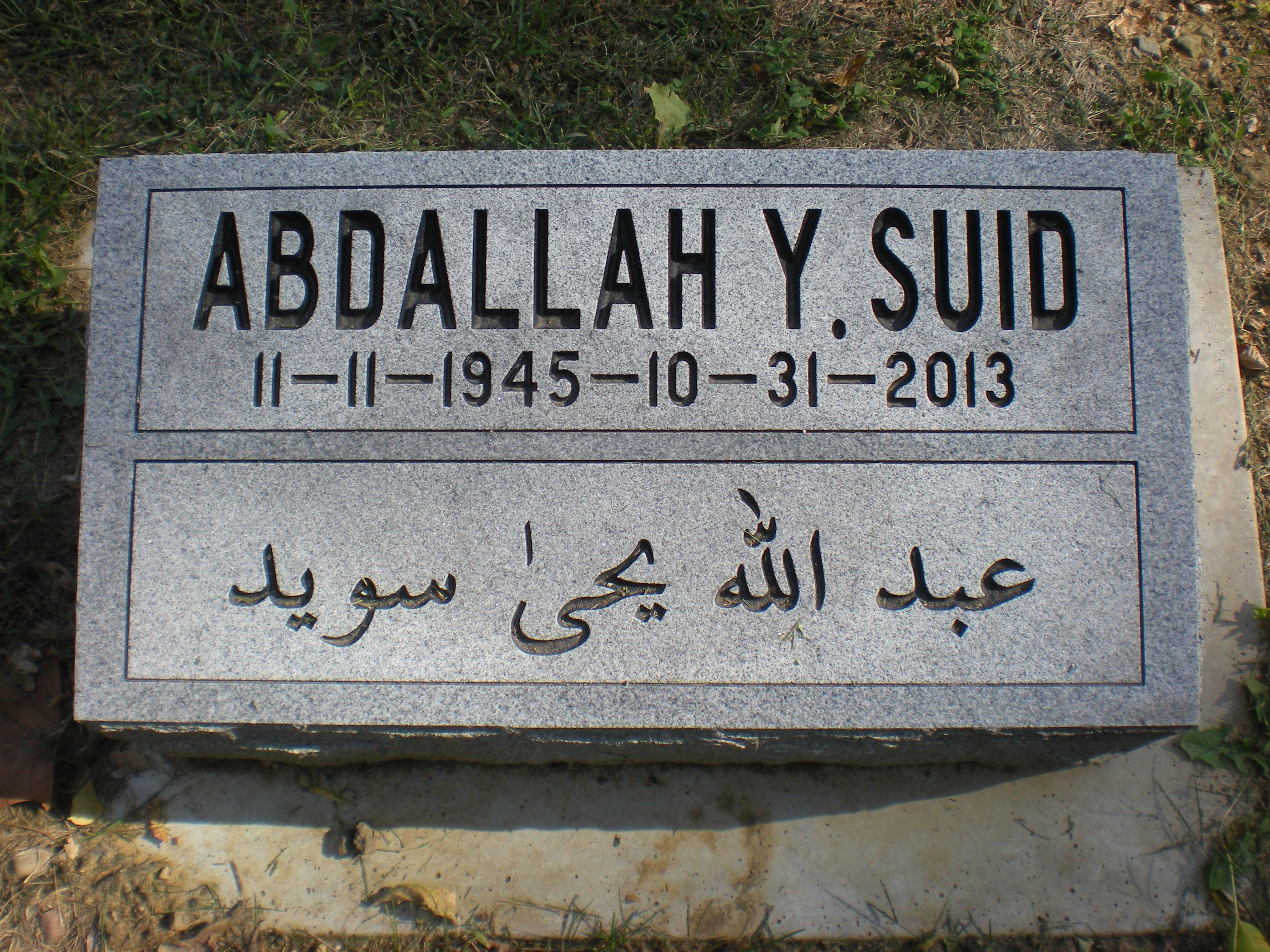 Abdallah Y Suid 1945 2013