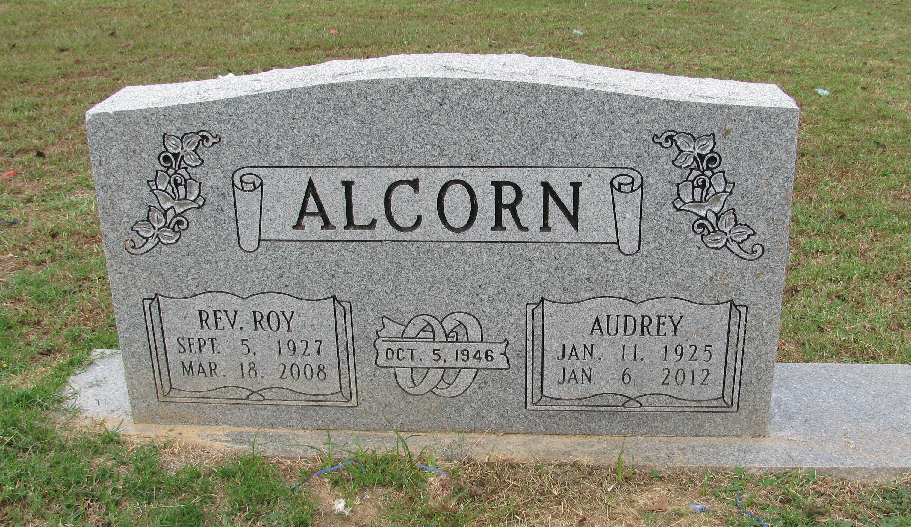 Rev Roy Alcorn