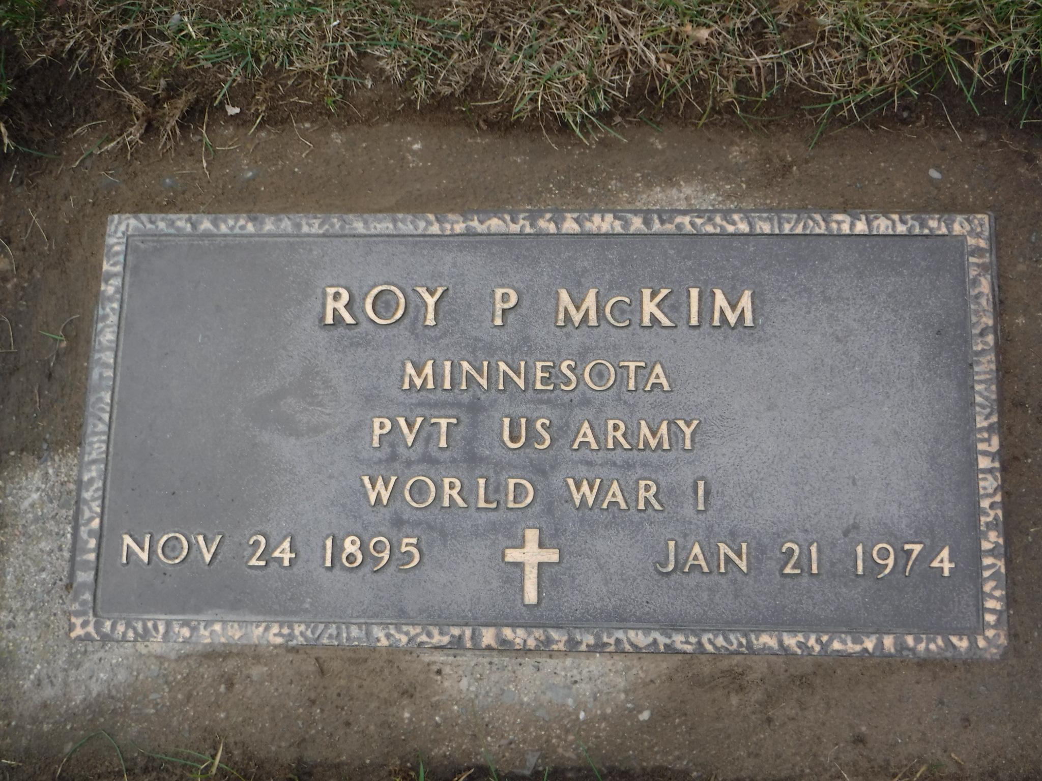 Roy Preston McKim