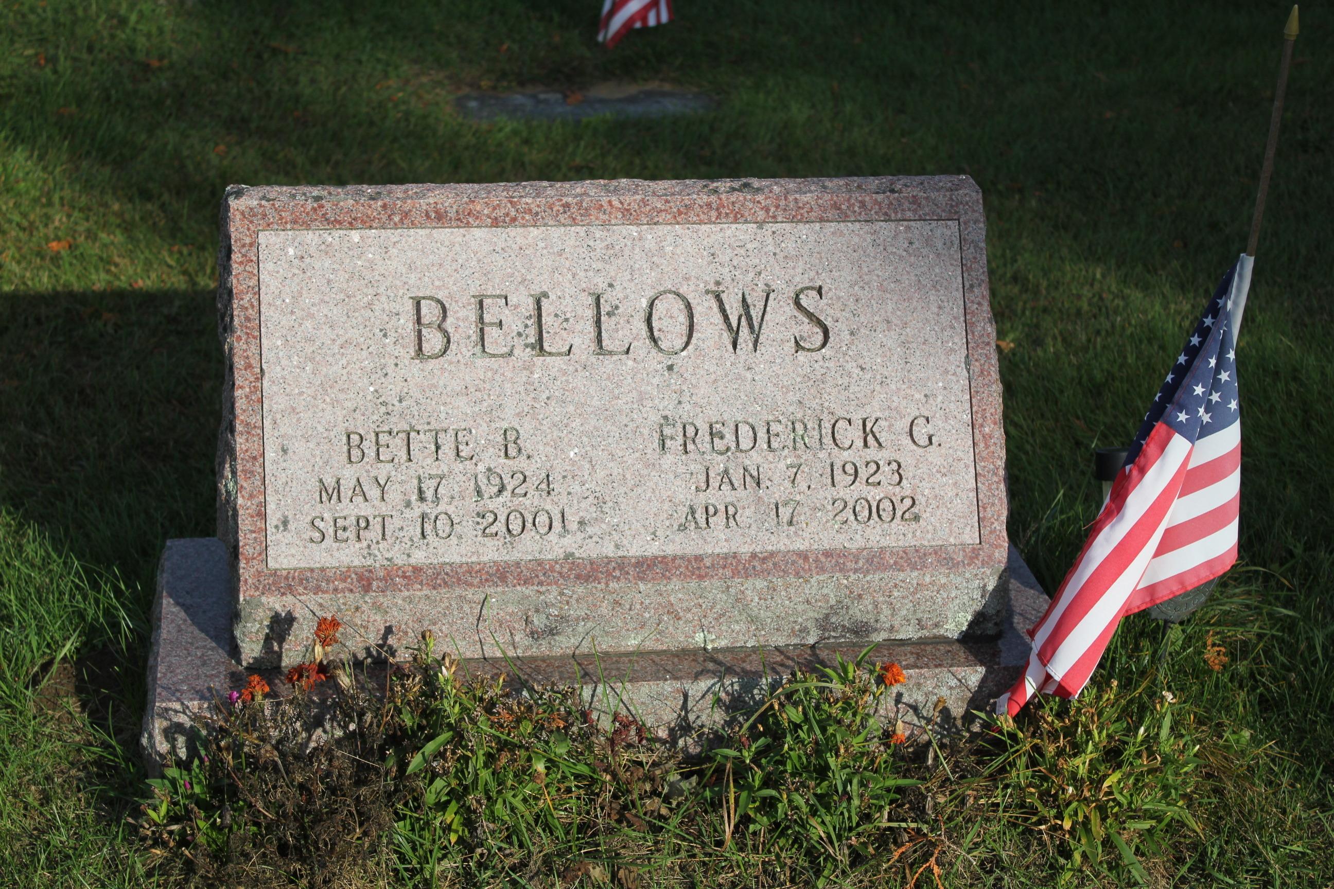 Frederick Giddings Bellows