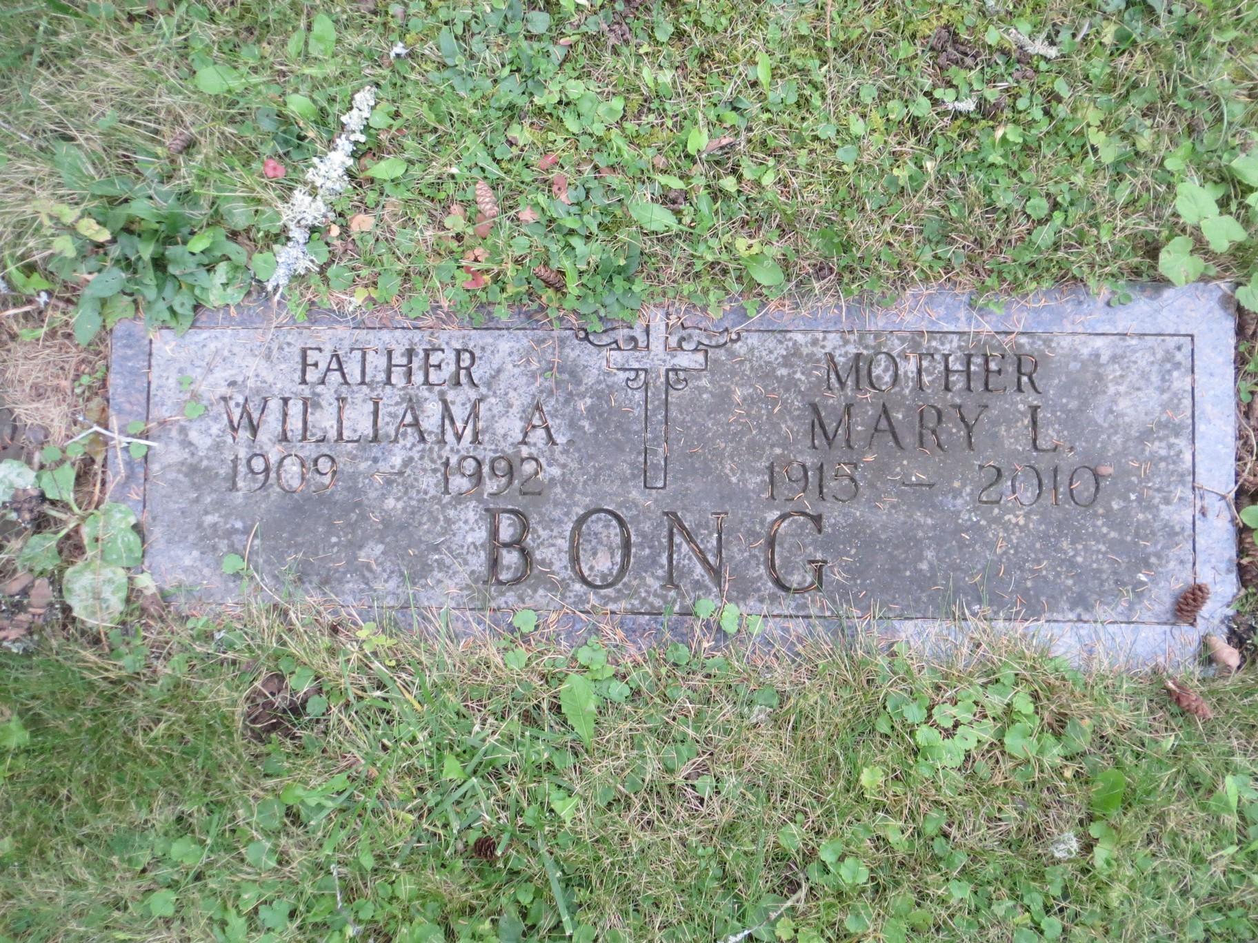 Mary L <i>Miller</i> Bong
