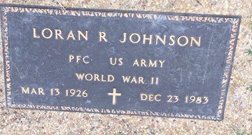 Richard Loran Red Johnson
