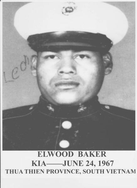 LCpl Elwood Baker