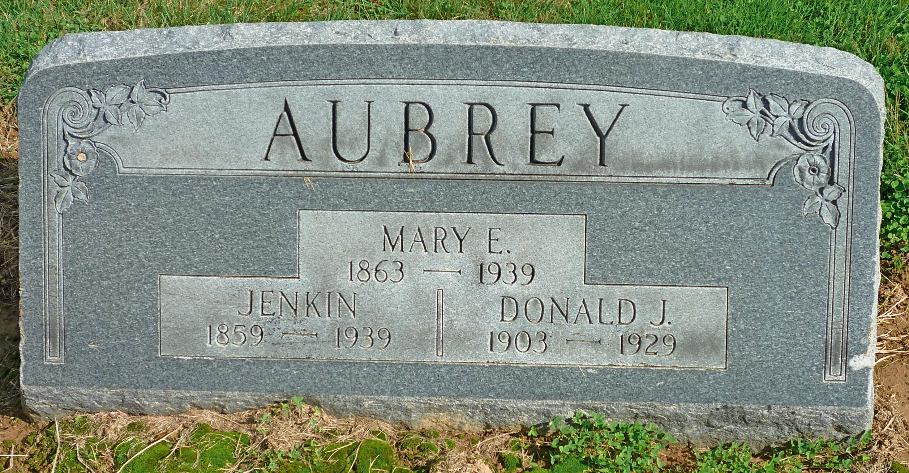 Donald J Aubrey