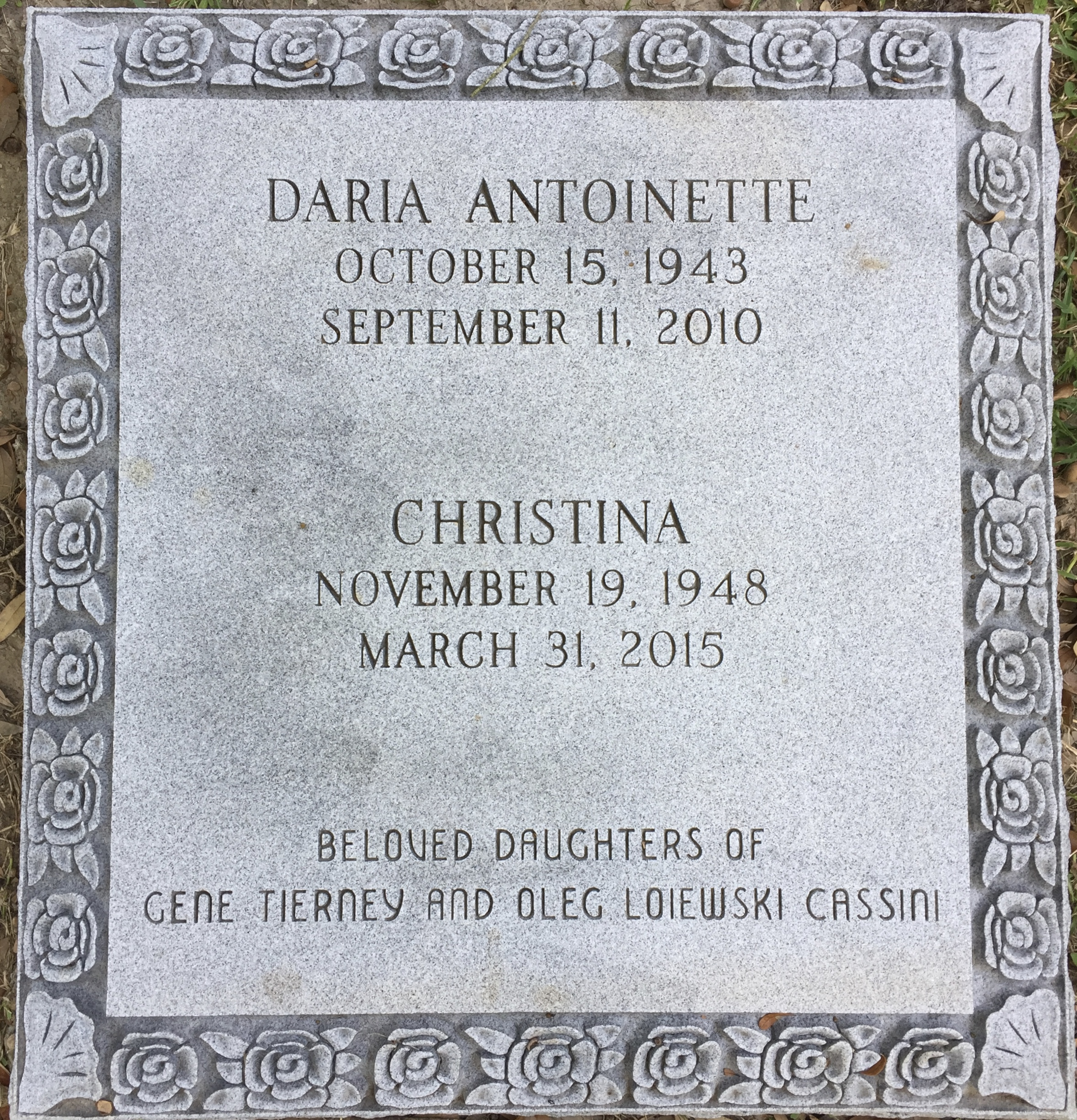 daria cassini death - photo #34