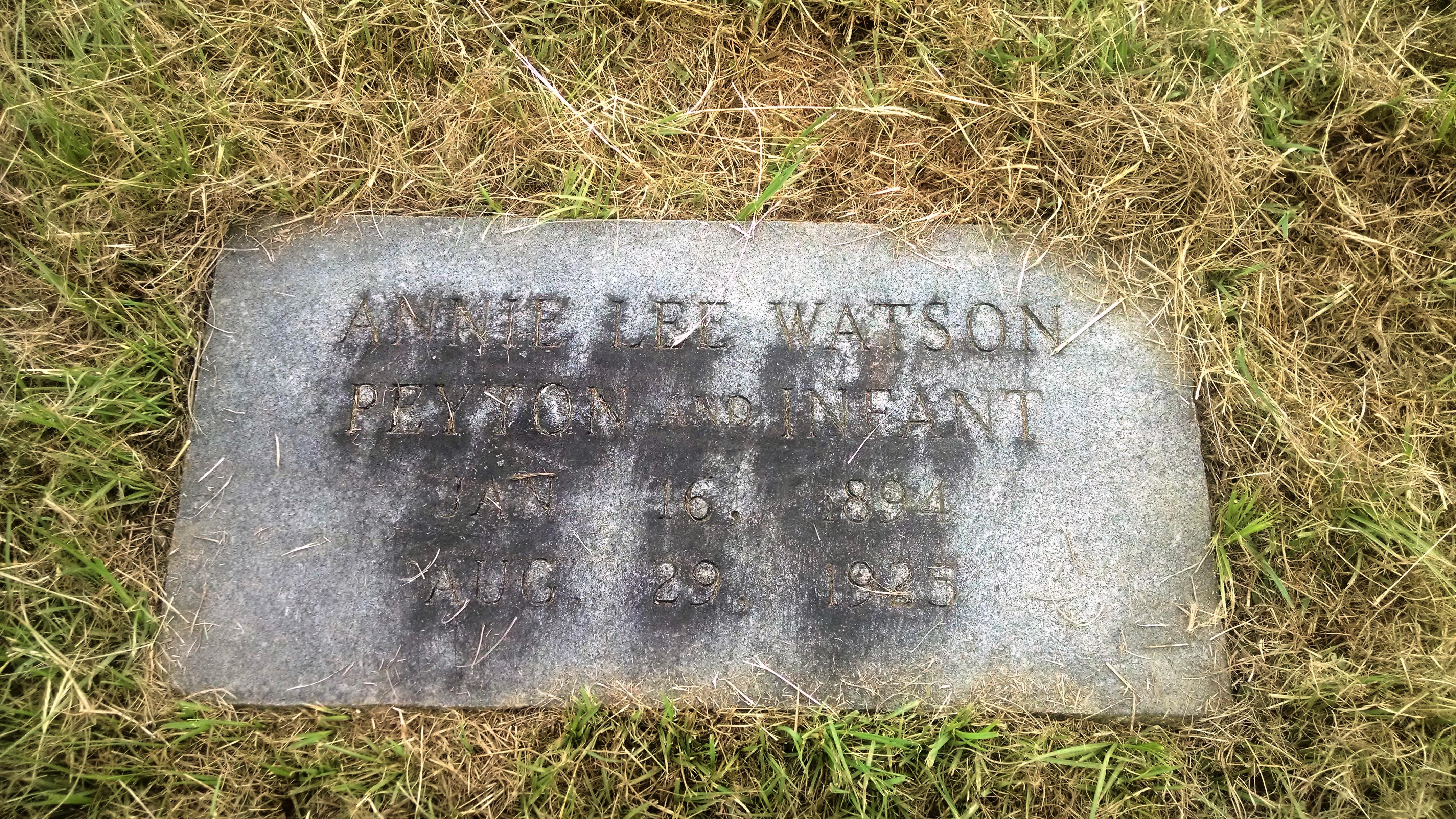 Annie Lee <i>Watson</i> Peyton