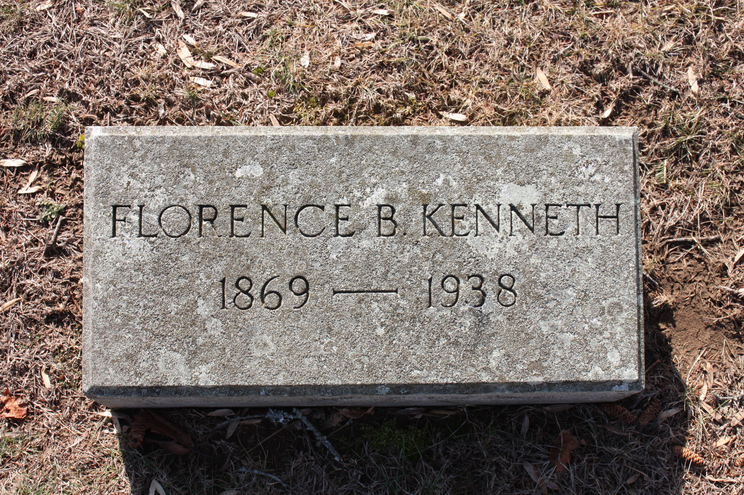 Florence Edith <i>Burk</i> Kenneth