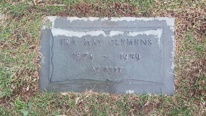Ida May <i>Dawson</i> Clemens