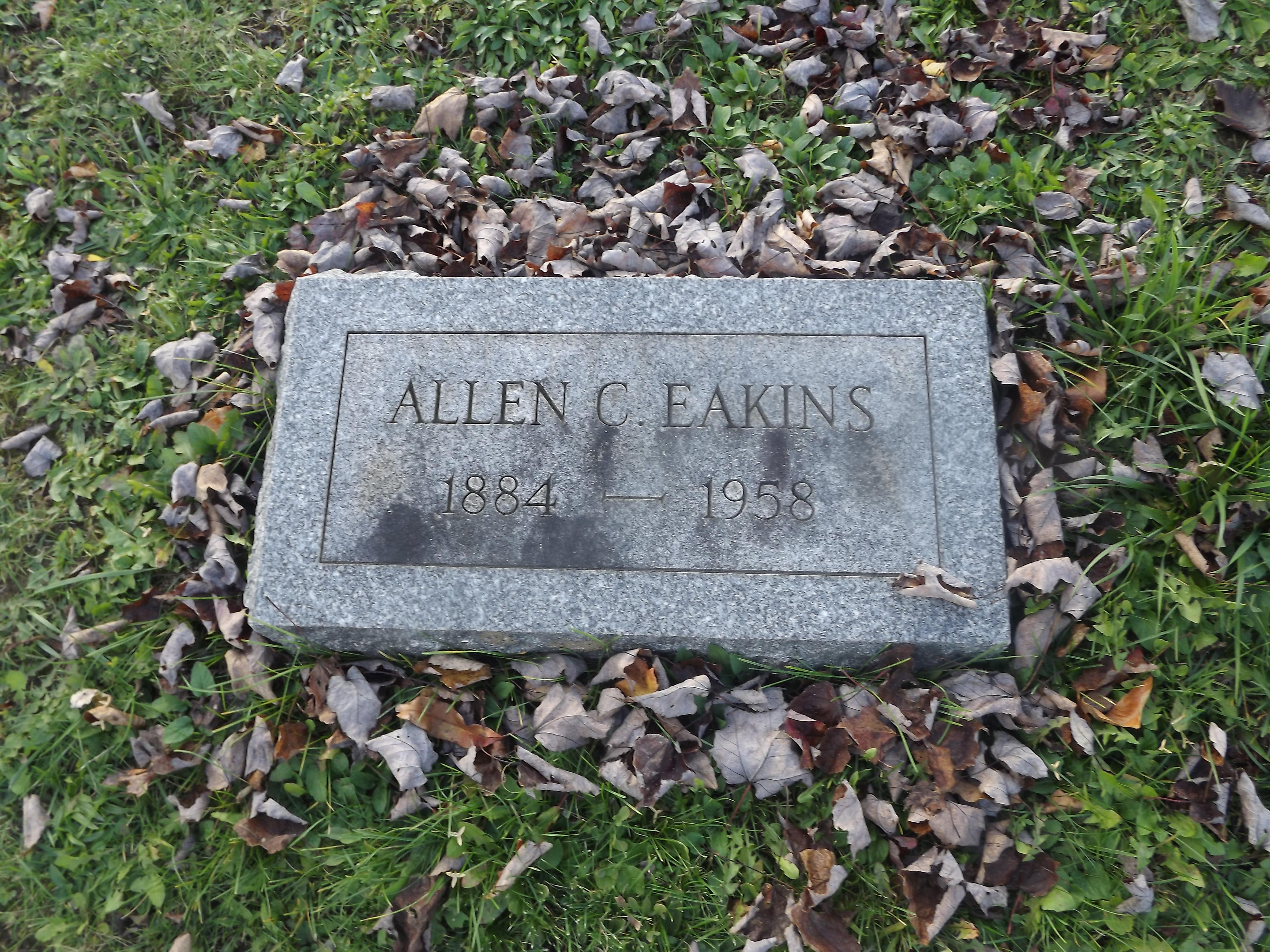 Allen C Eakins