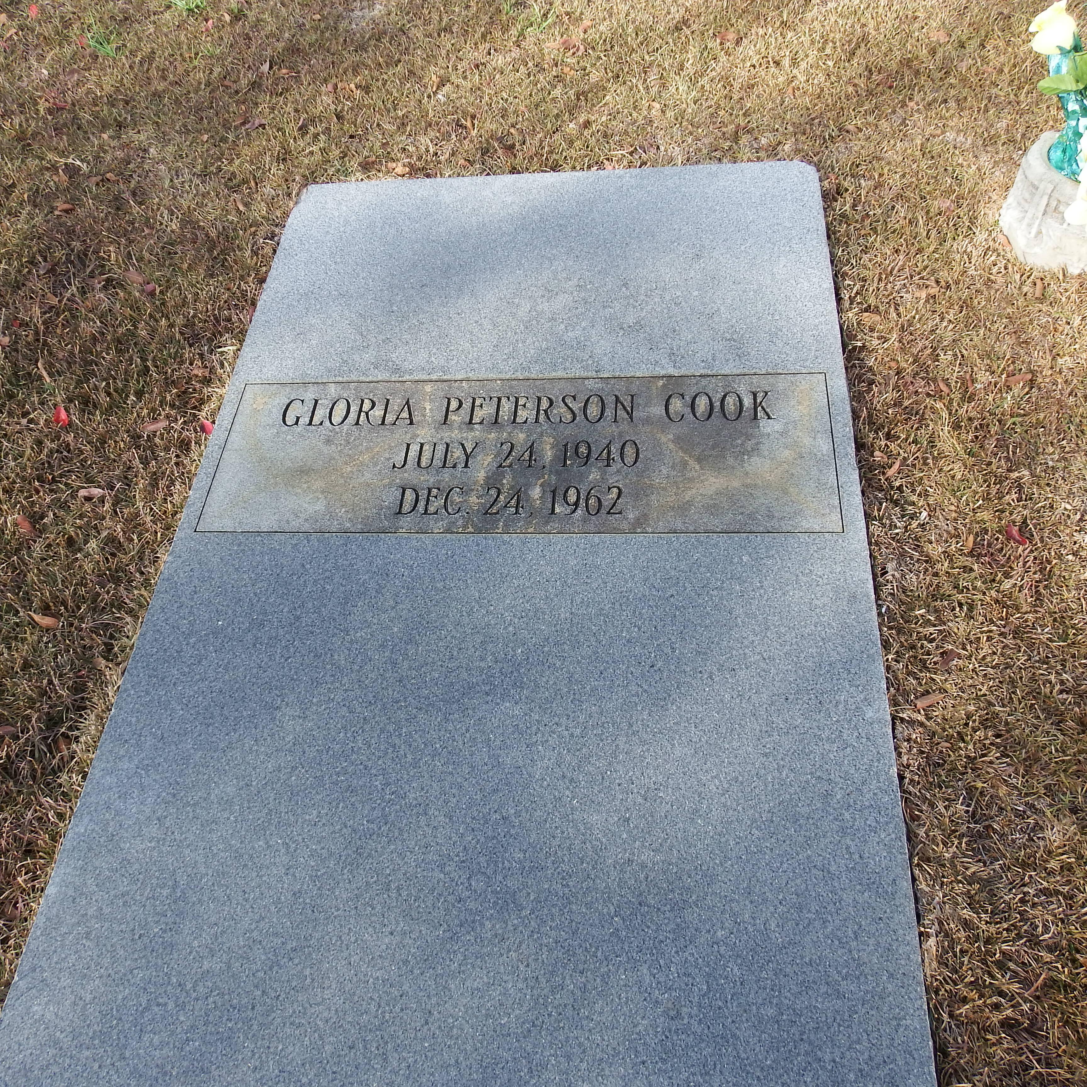 Gloria Pat <i>Peterson</i> Cook