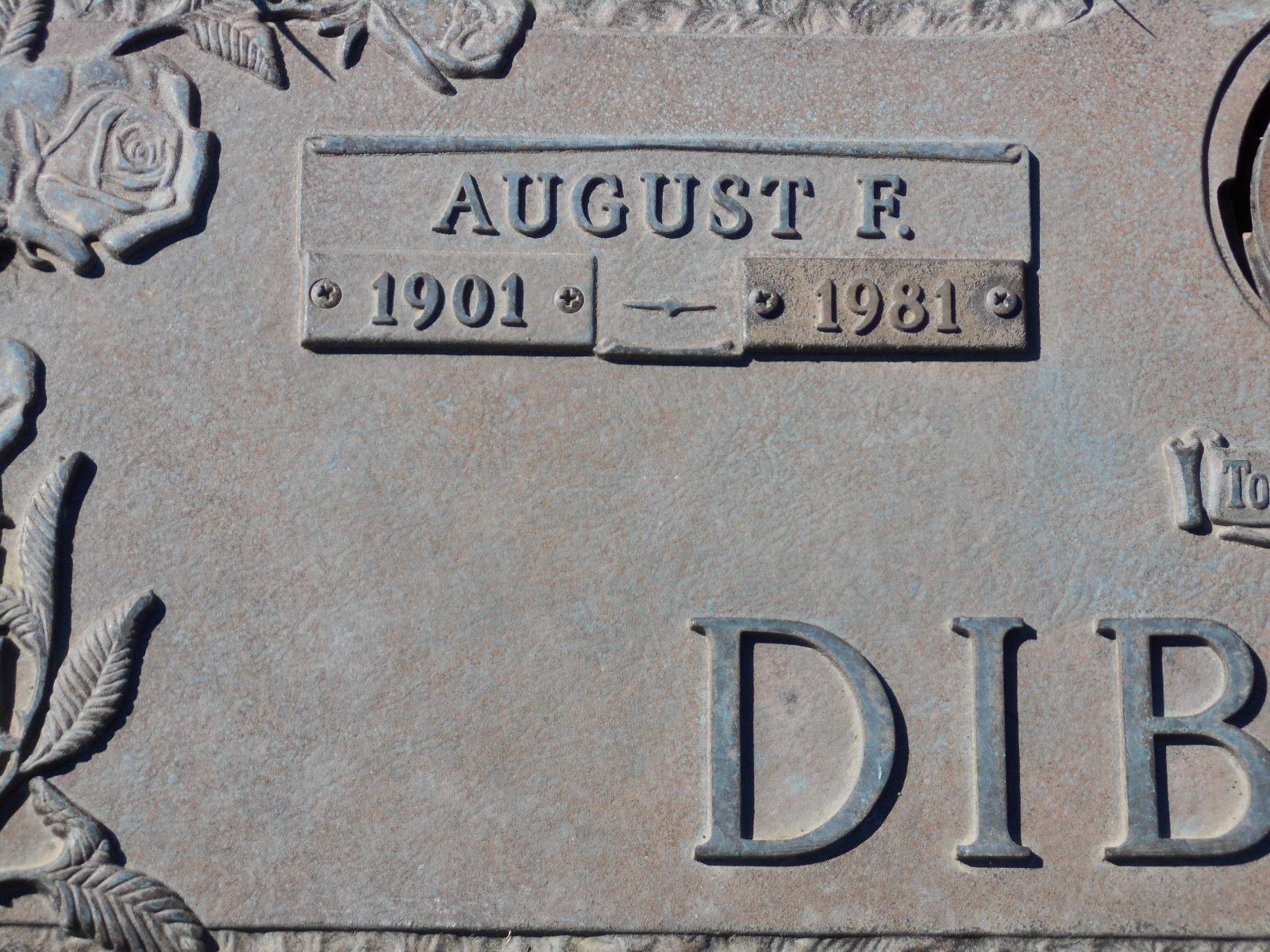 August Frederick Dibbert