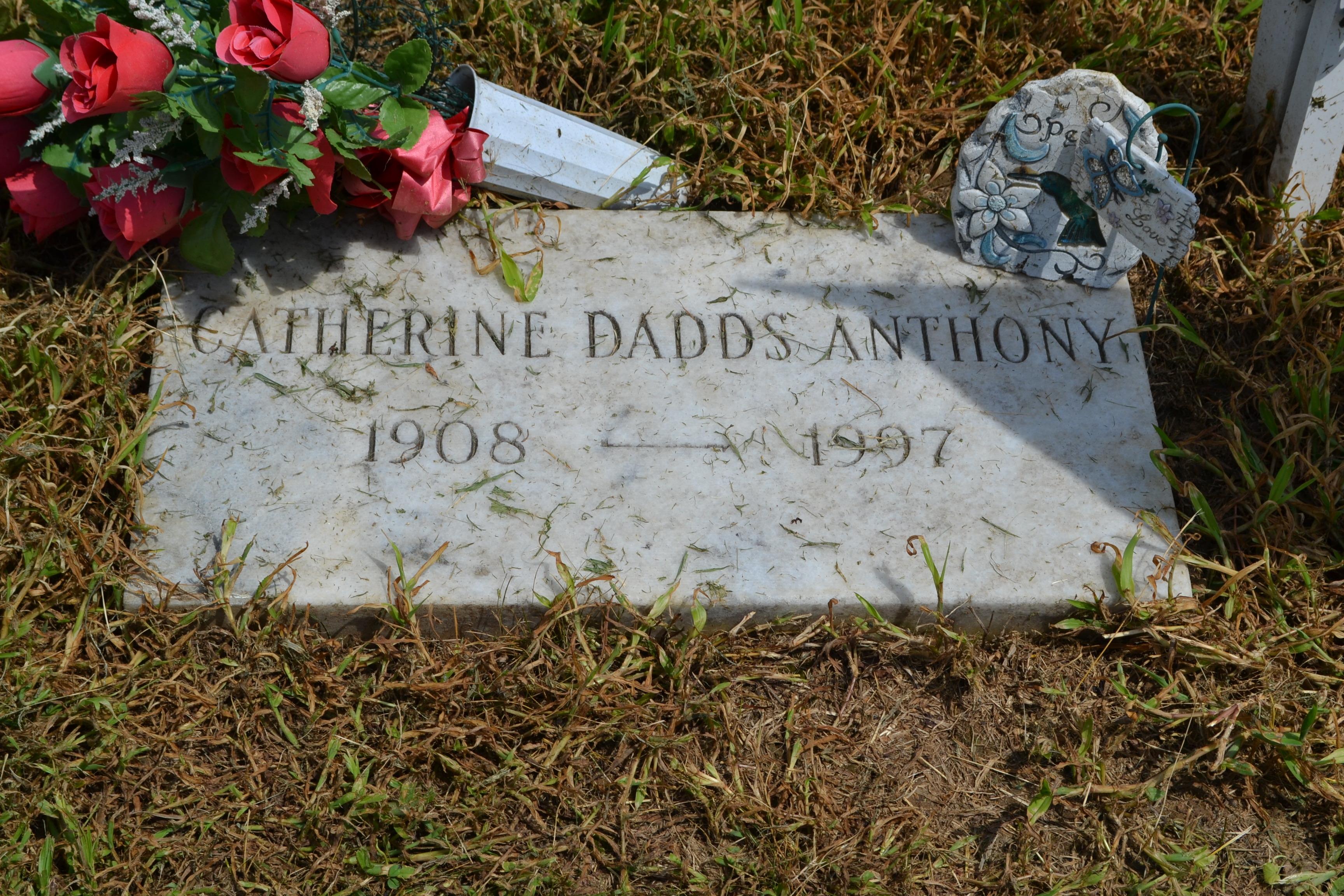 Catherine Virginia <i>Dadds</i> Anthony