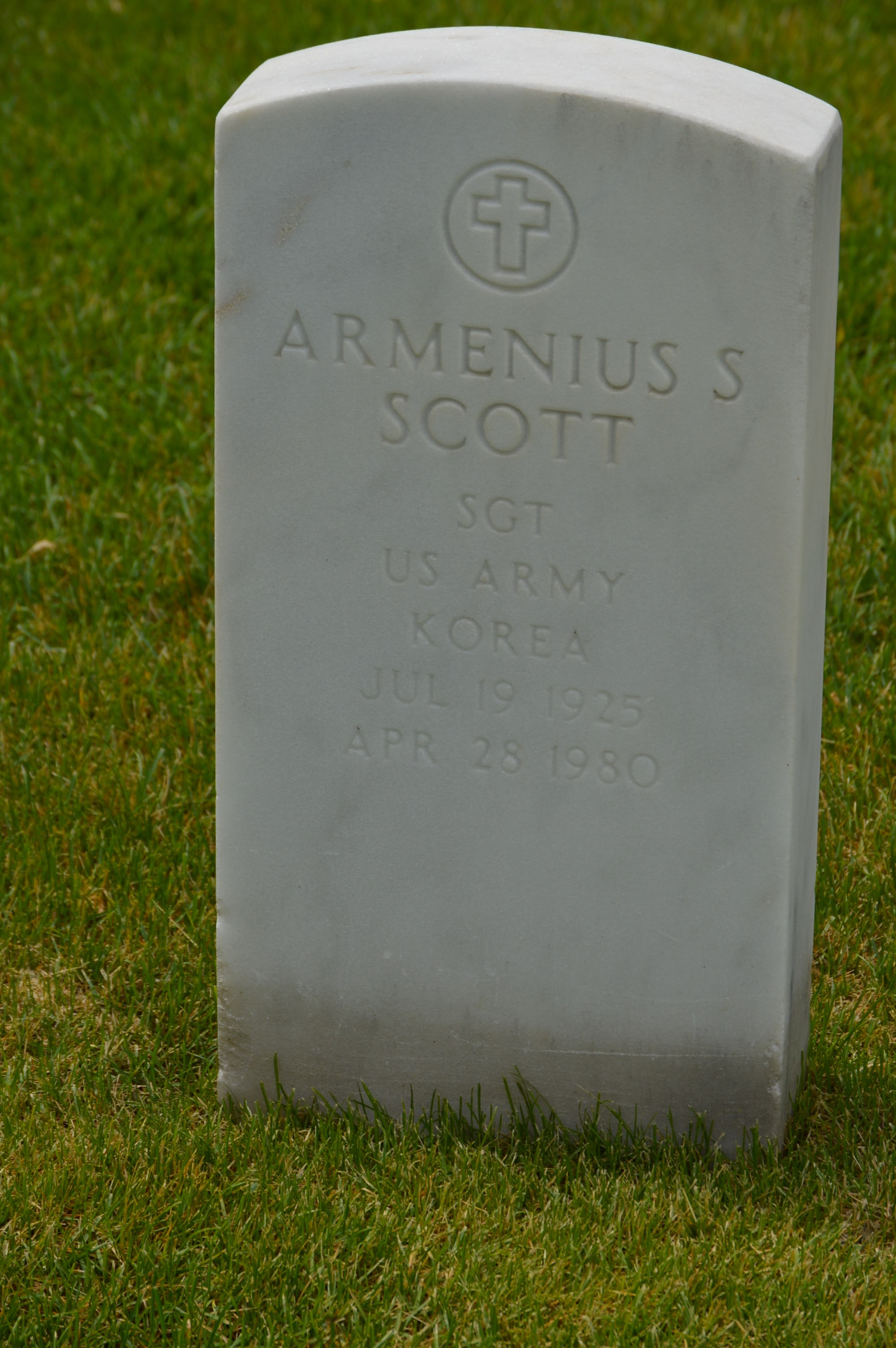 Armenius S Scott