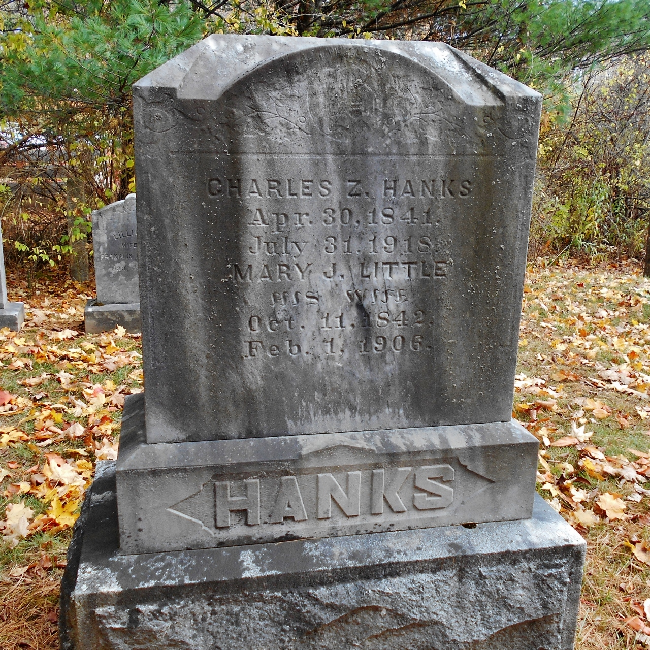 Mary J <i>Little</i> Hanks