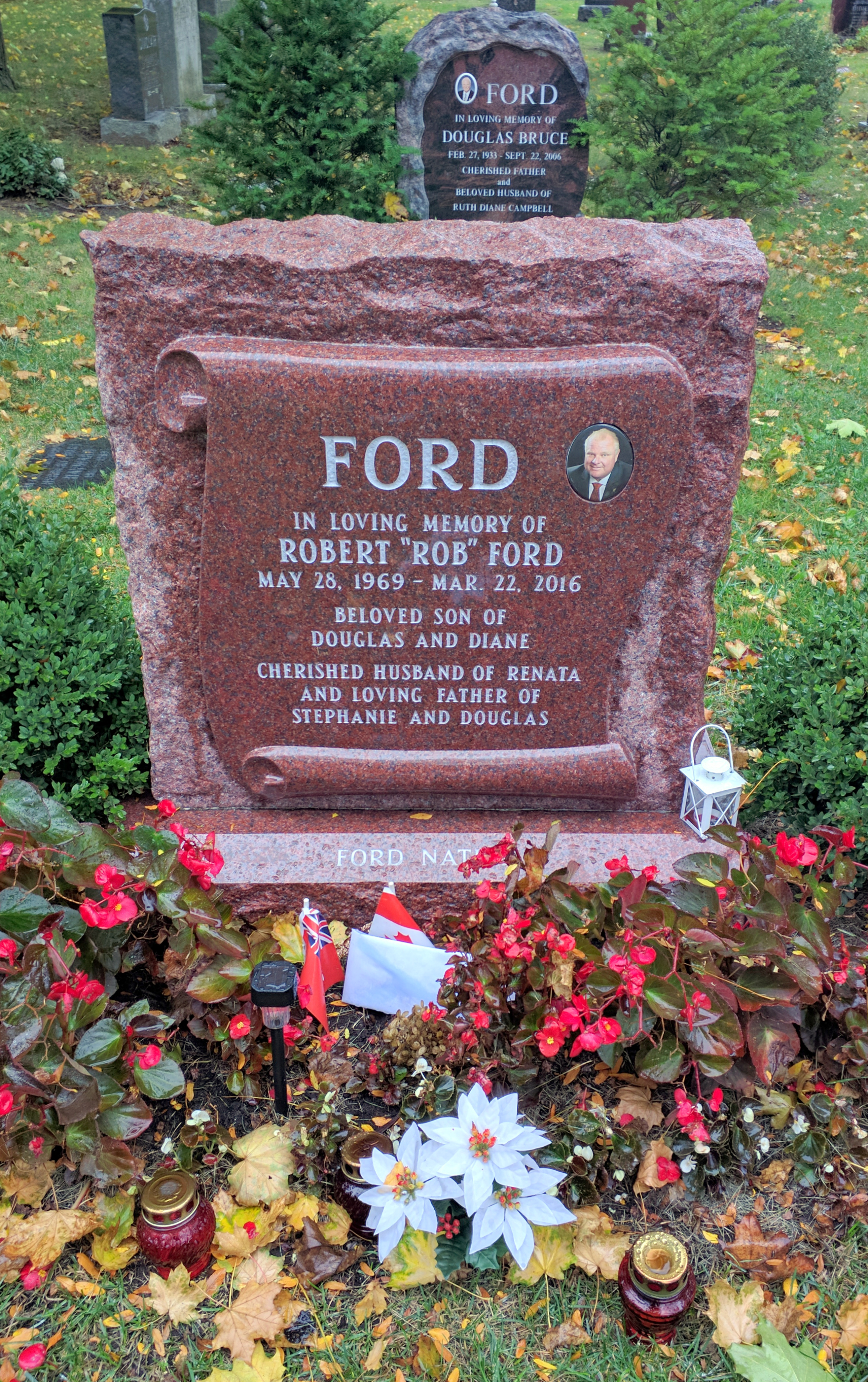 Rob Ford 1969 2016 Find A Grave Memorial