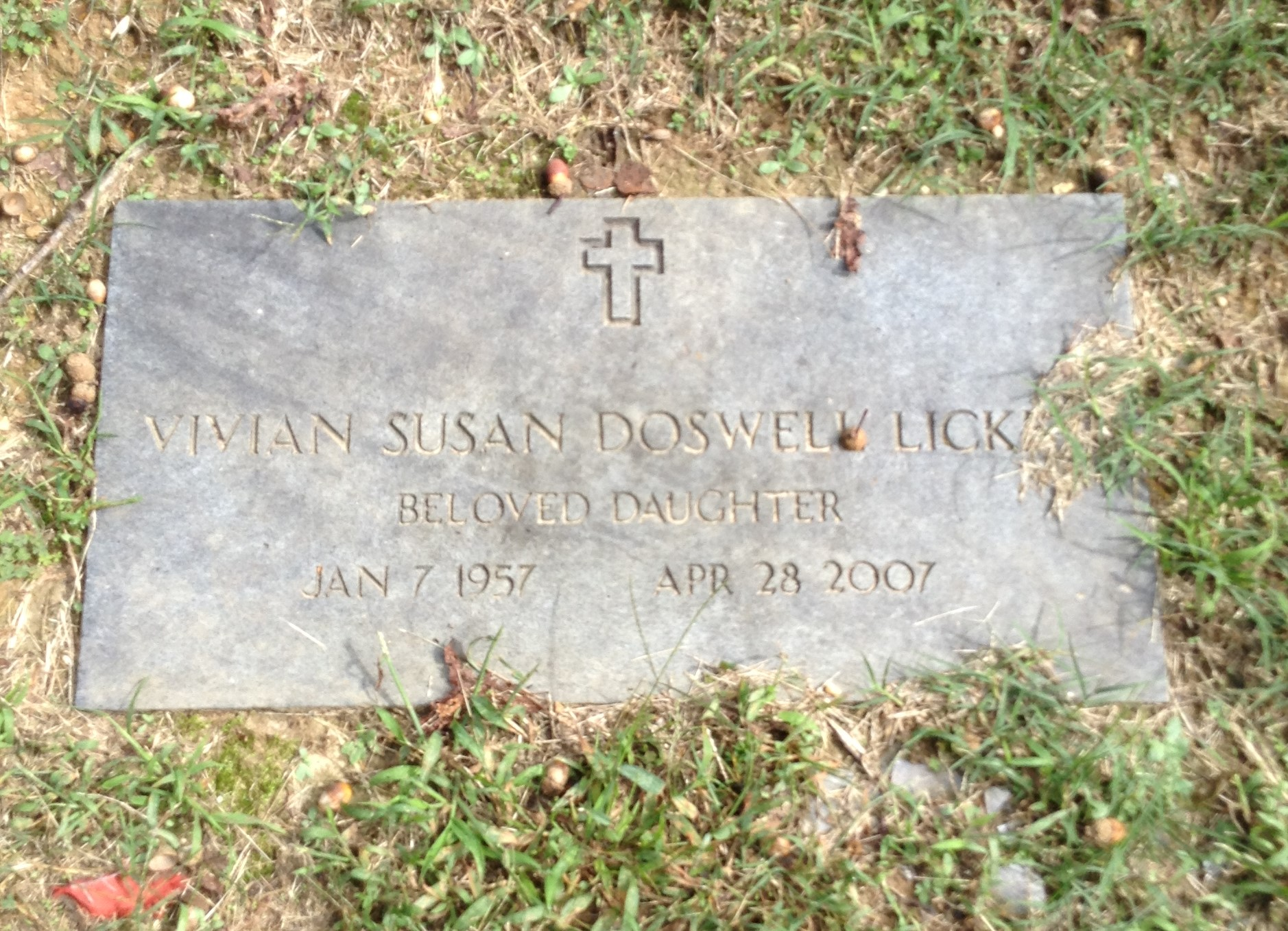 Vivian Susan <i>Doswell</i> Lickey