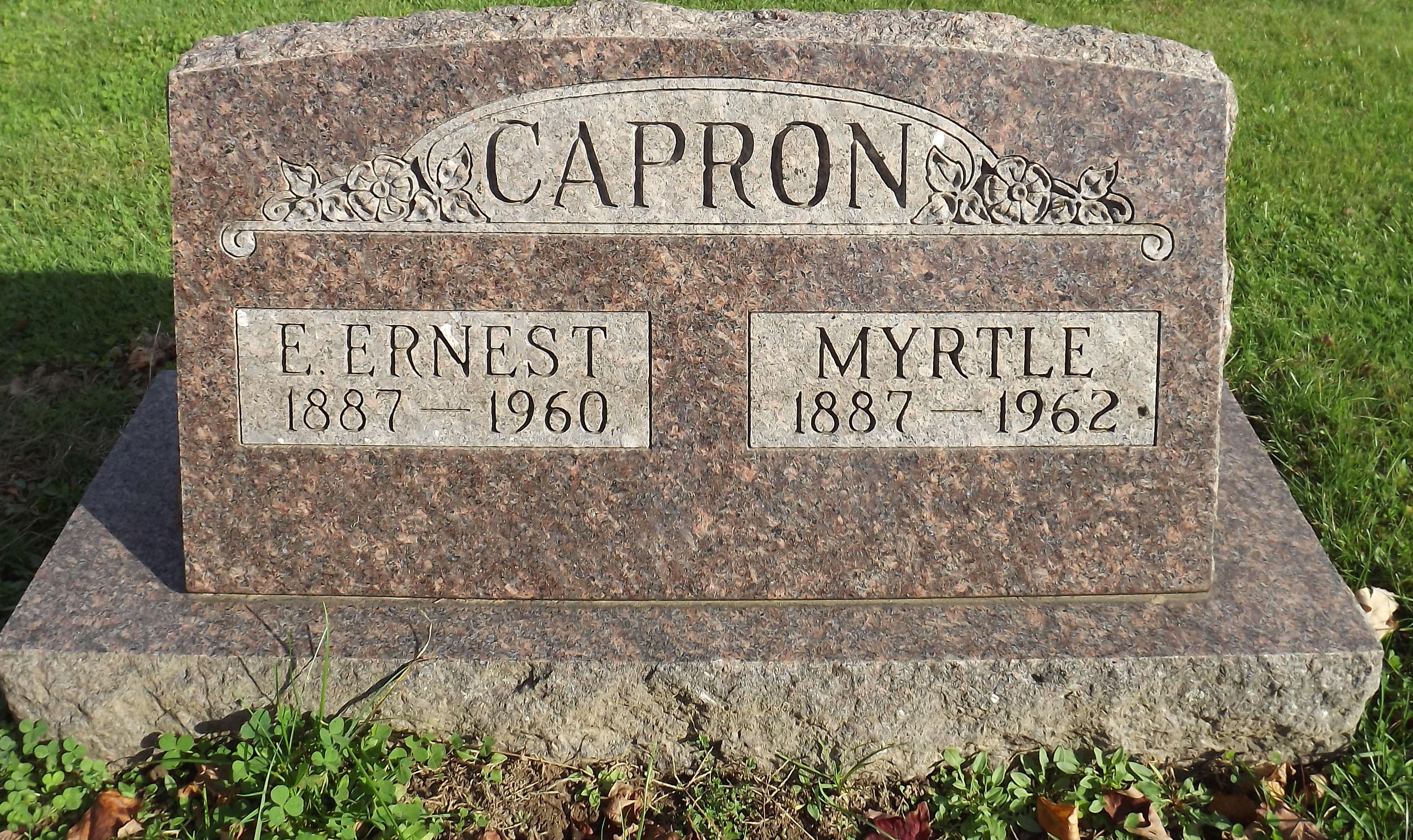 Ervin Ernest Capron