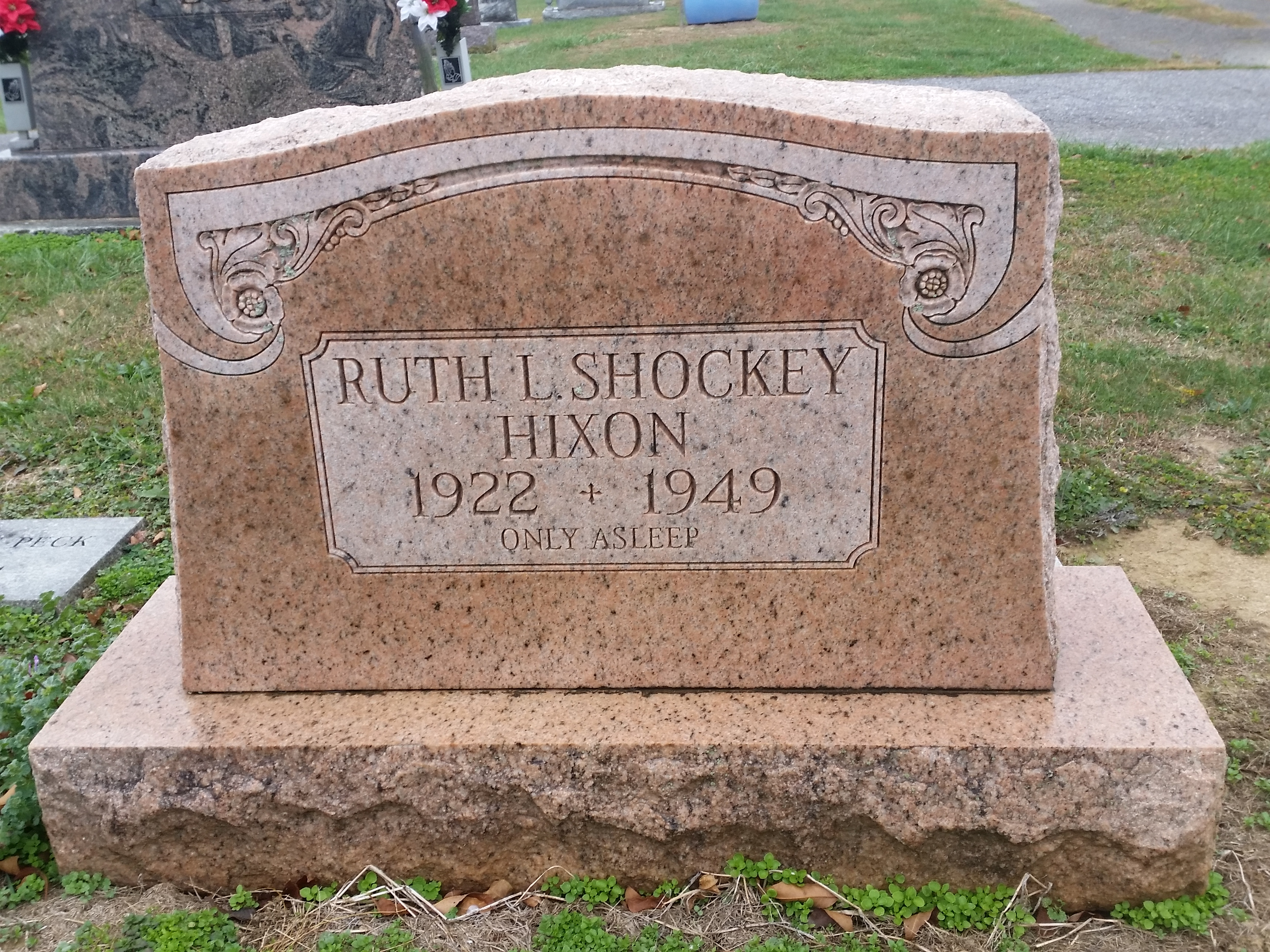 Ruth Louise Shockey Hixson 1922 1949 Find A Grave Memorial