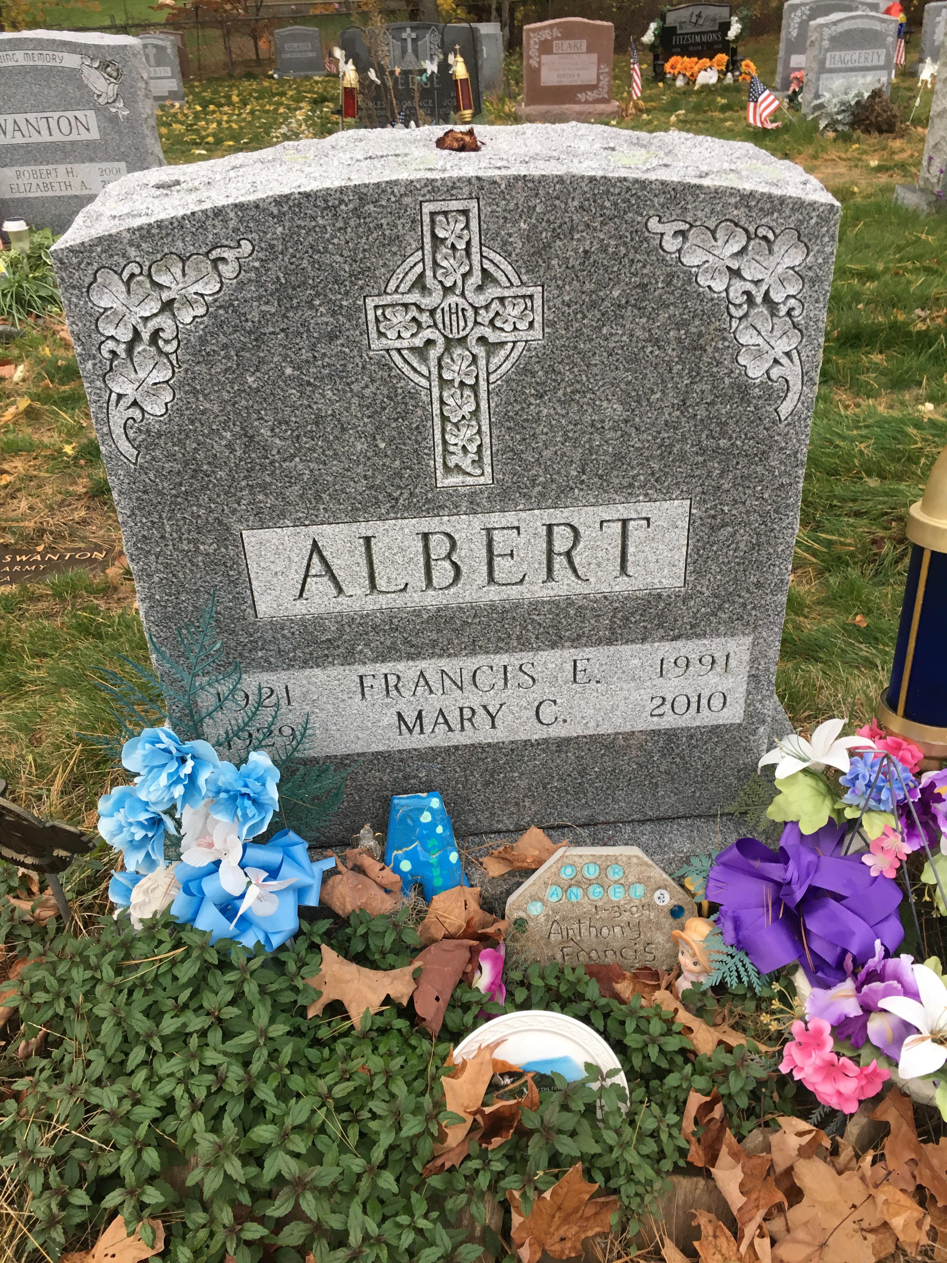 Mary C <i>Walsh</i> Albert