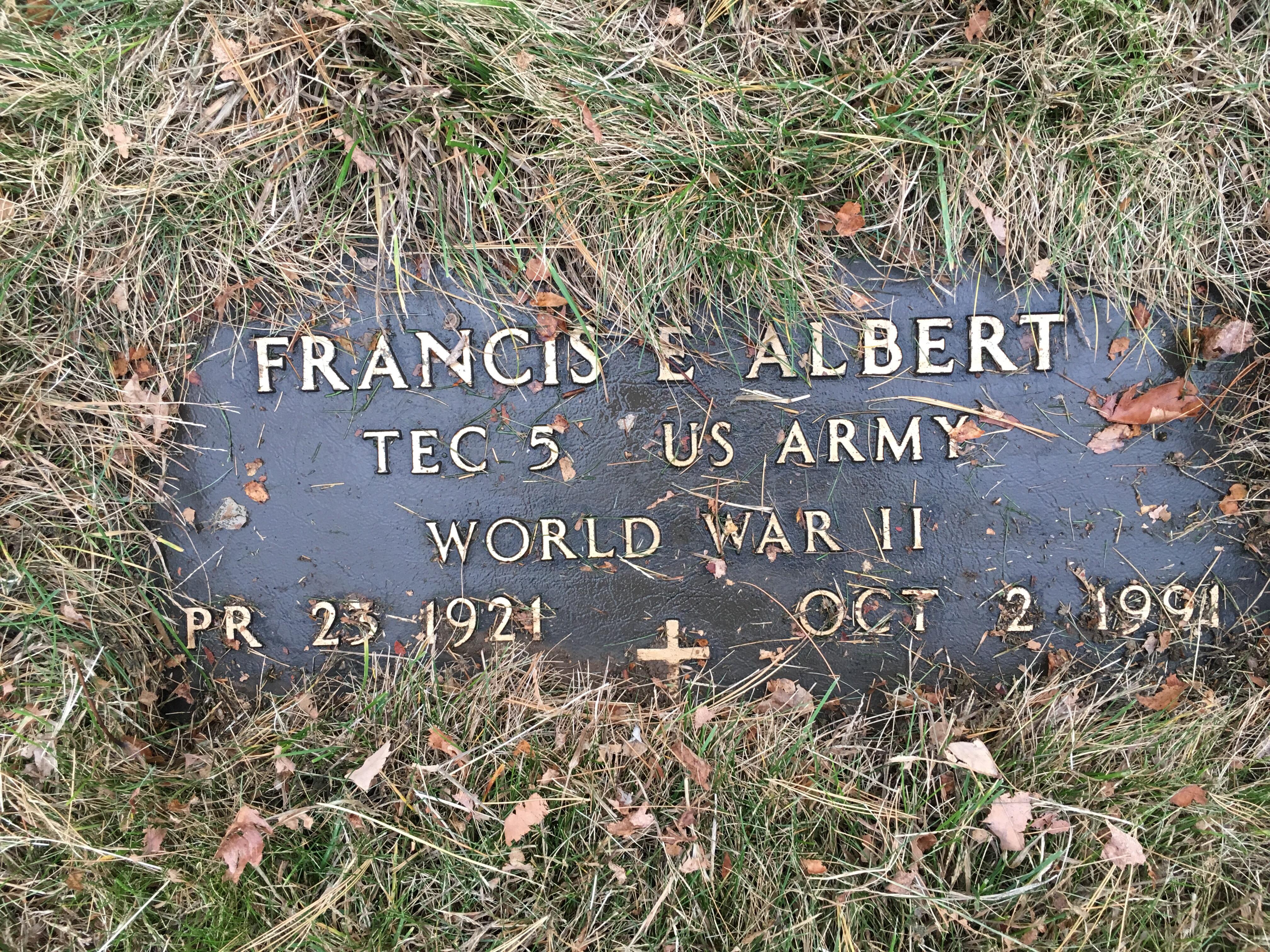 Francis Edward Albert