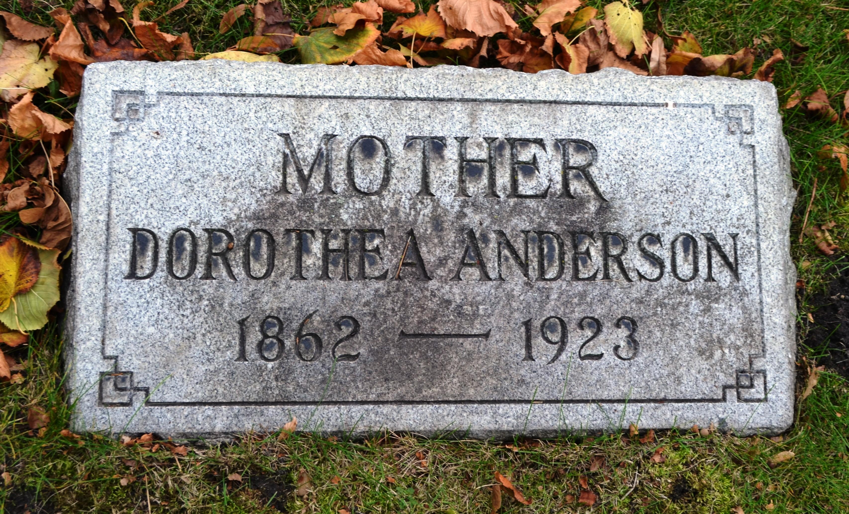 Dorothea Dora <i>Strahl</i> Anderson