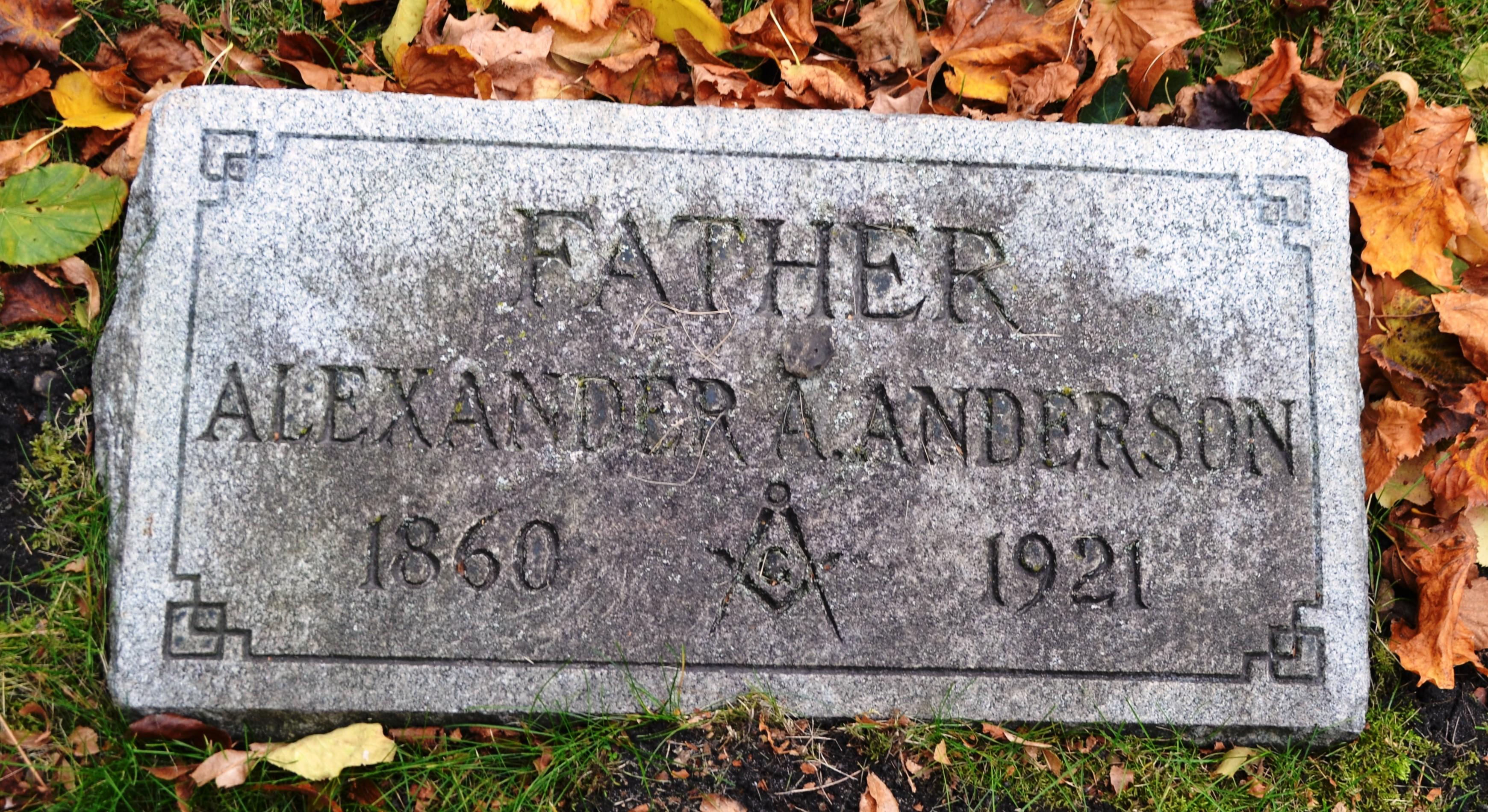 Capt Alexander A. Anderson
