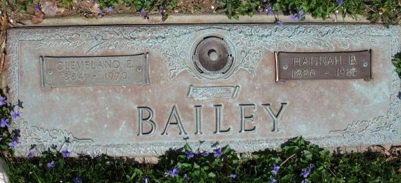 Cleveland E Bailey