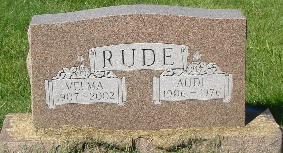 Velma F Choate Rude (1907-2002) - Find A Grave Memorial