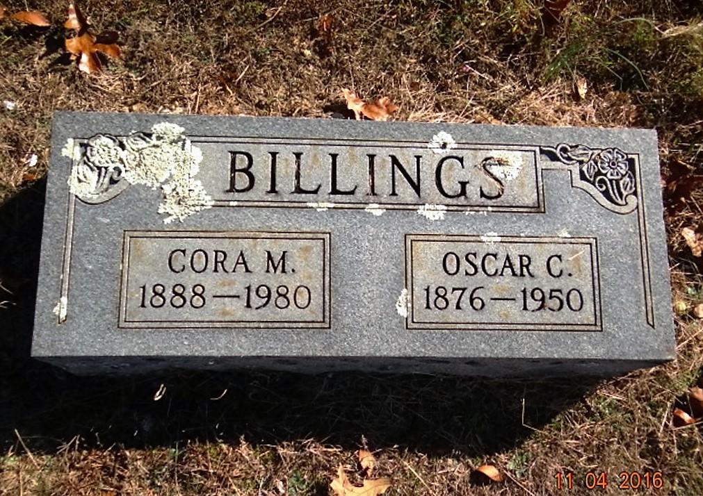 Cora M. Billings