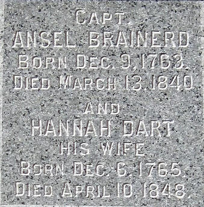 Hannah <i>Dart</i> Brainerd