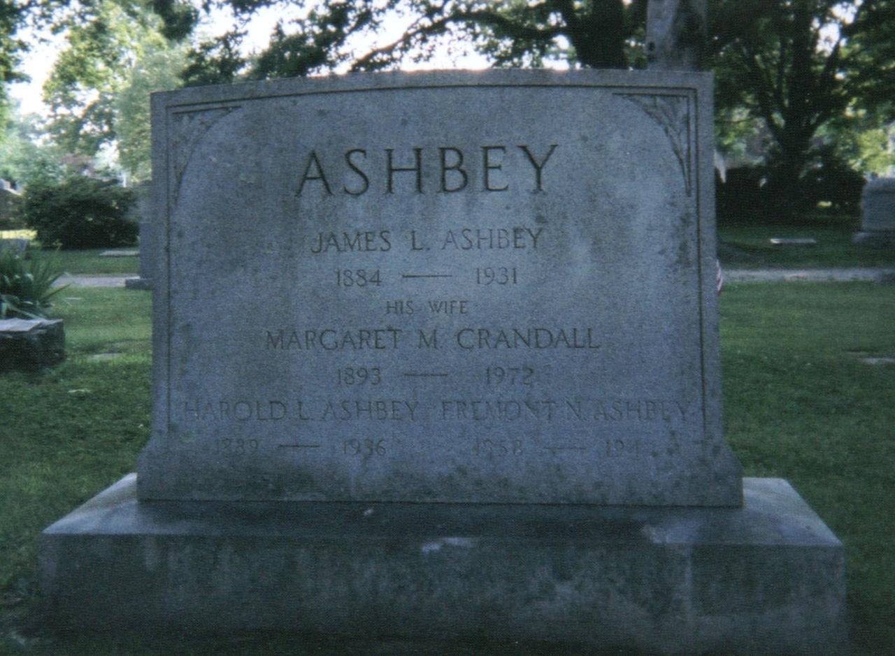 Margaret May <i>Crandall</i> Ashbey
