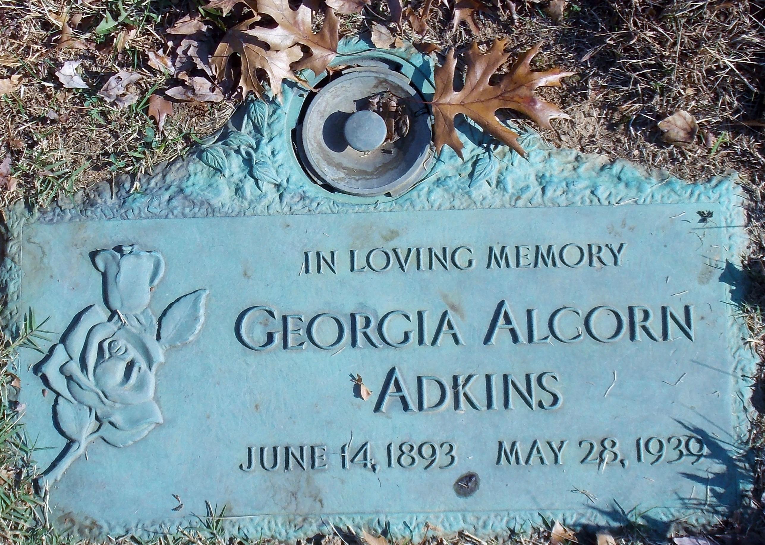 Georgia <i>Alcorn</i> Adkins