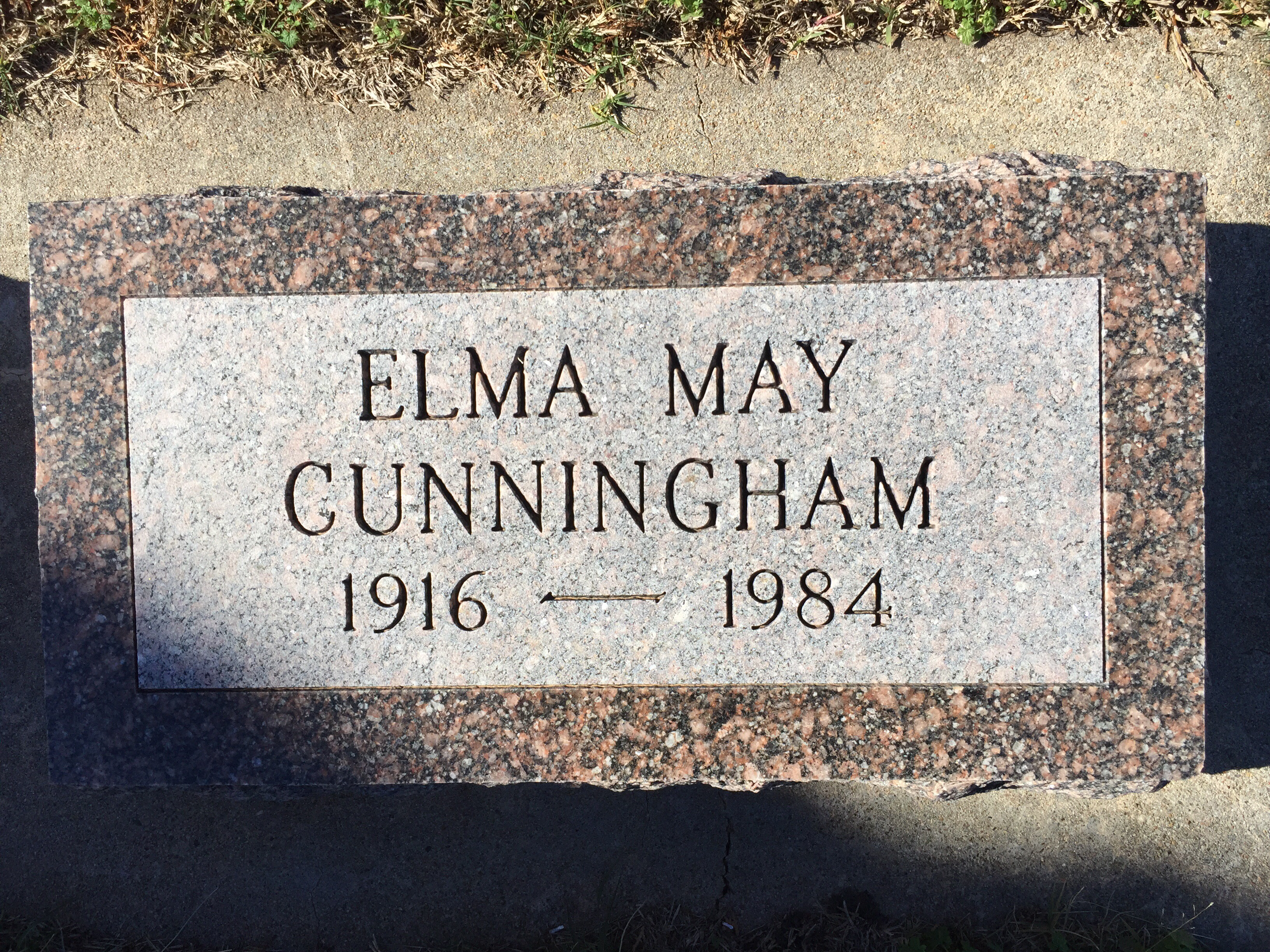 Elma May <i>Bane</i> Cunningham