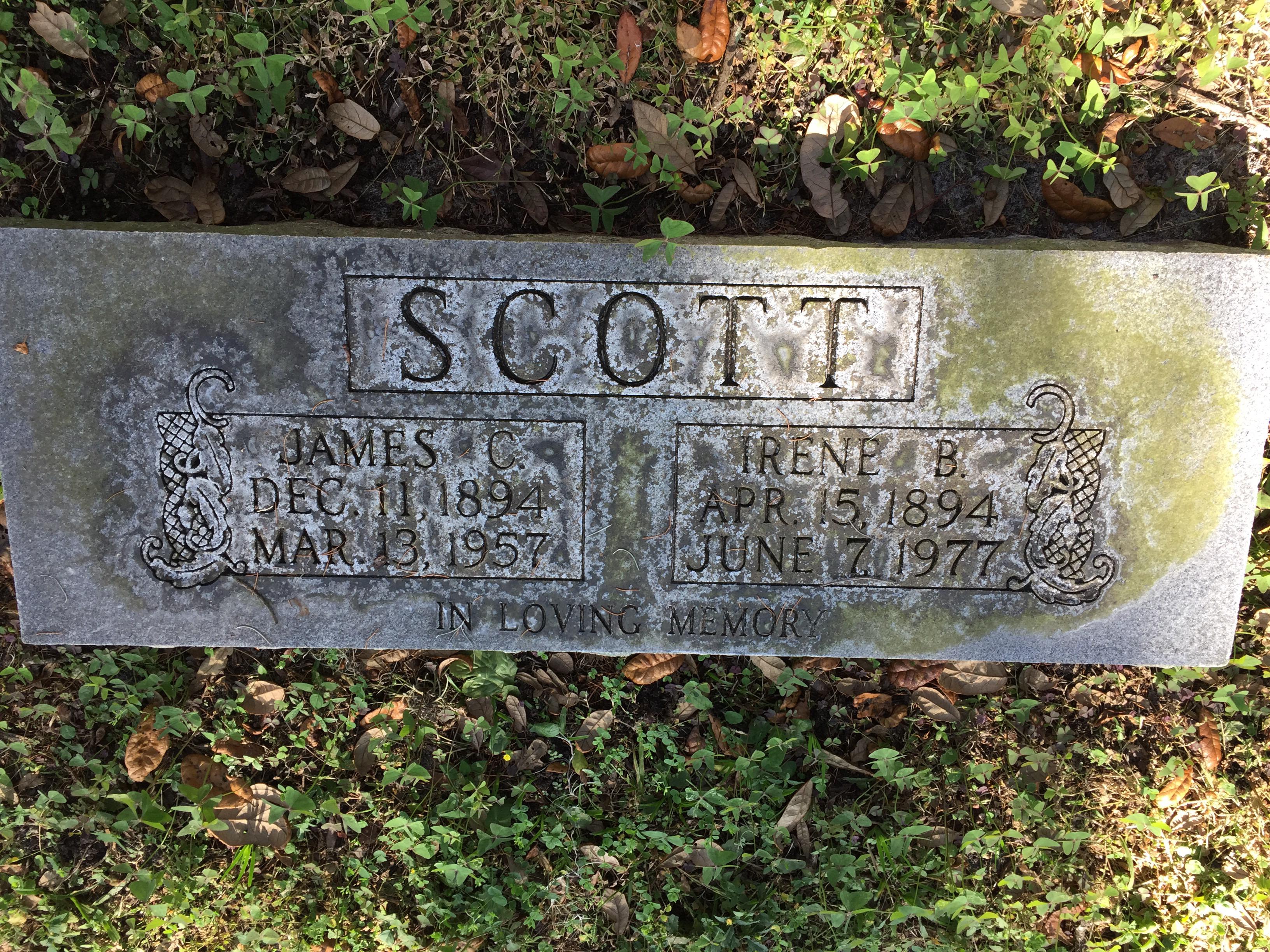 Irene B Scott