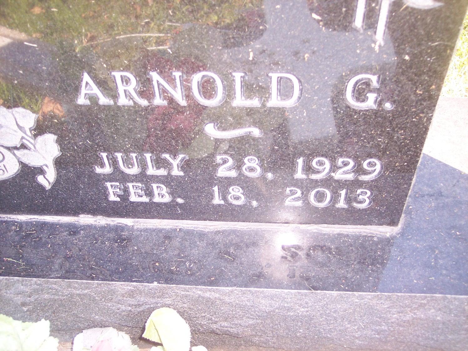 Arnold Arnie Prom
