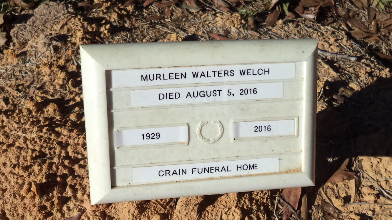 Murleen Walters Welch (1929-2016) - Find A Grave Memorial
