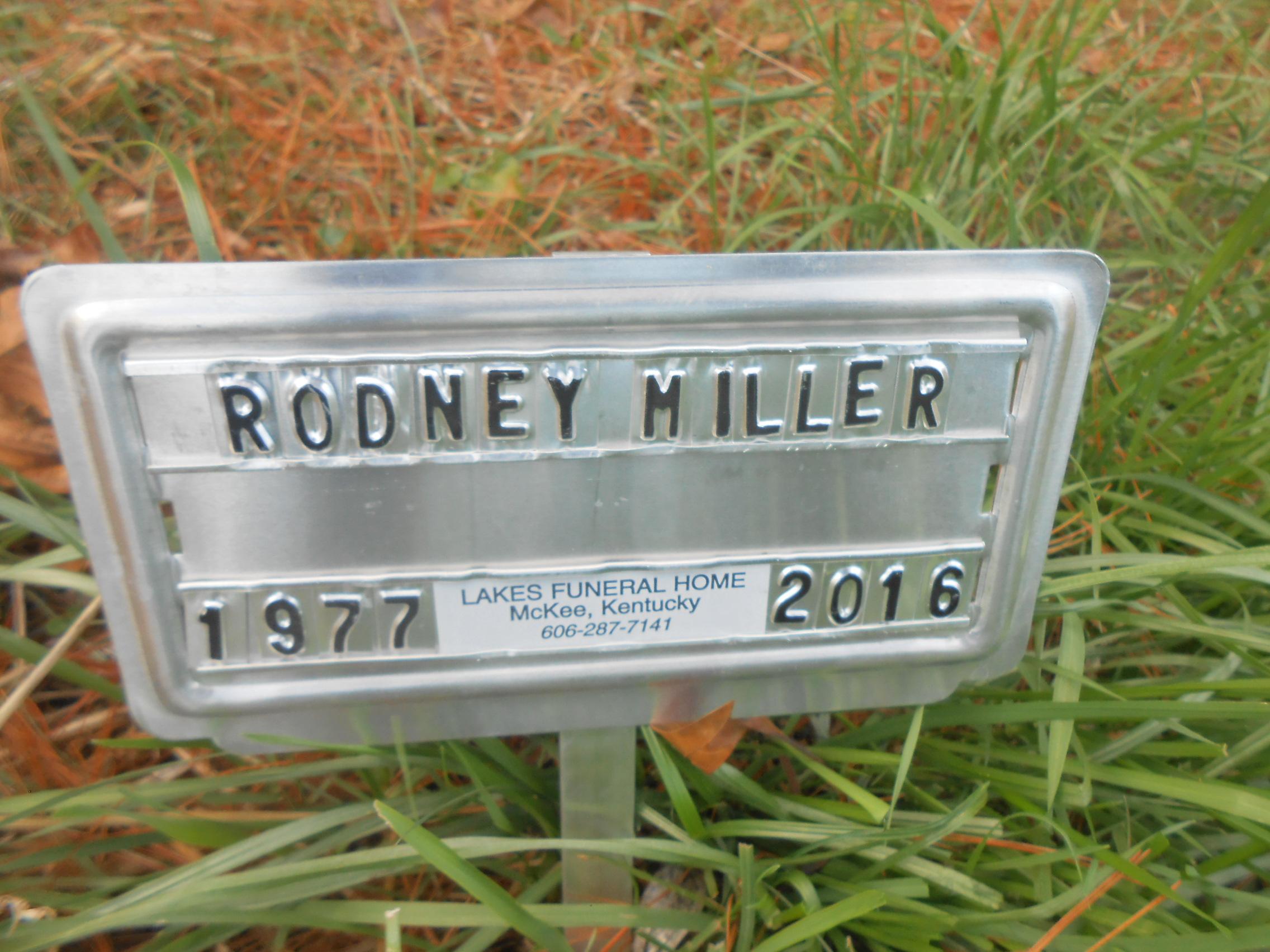 Rodney Dale Miller 1977 2016 Find A Grave Memorial