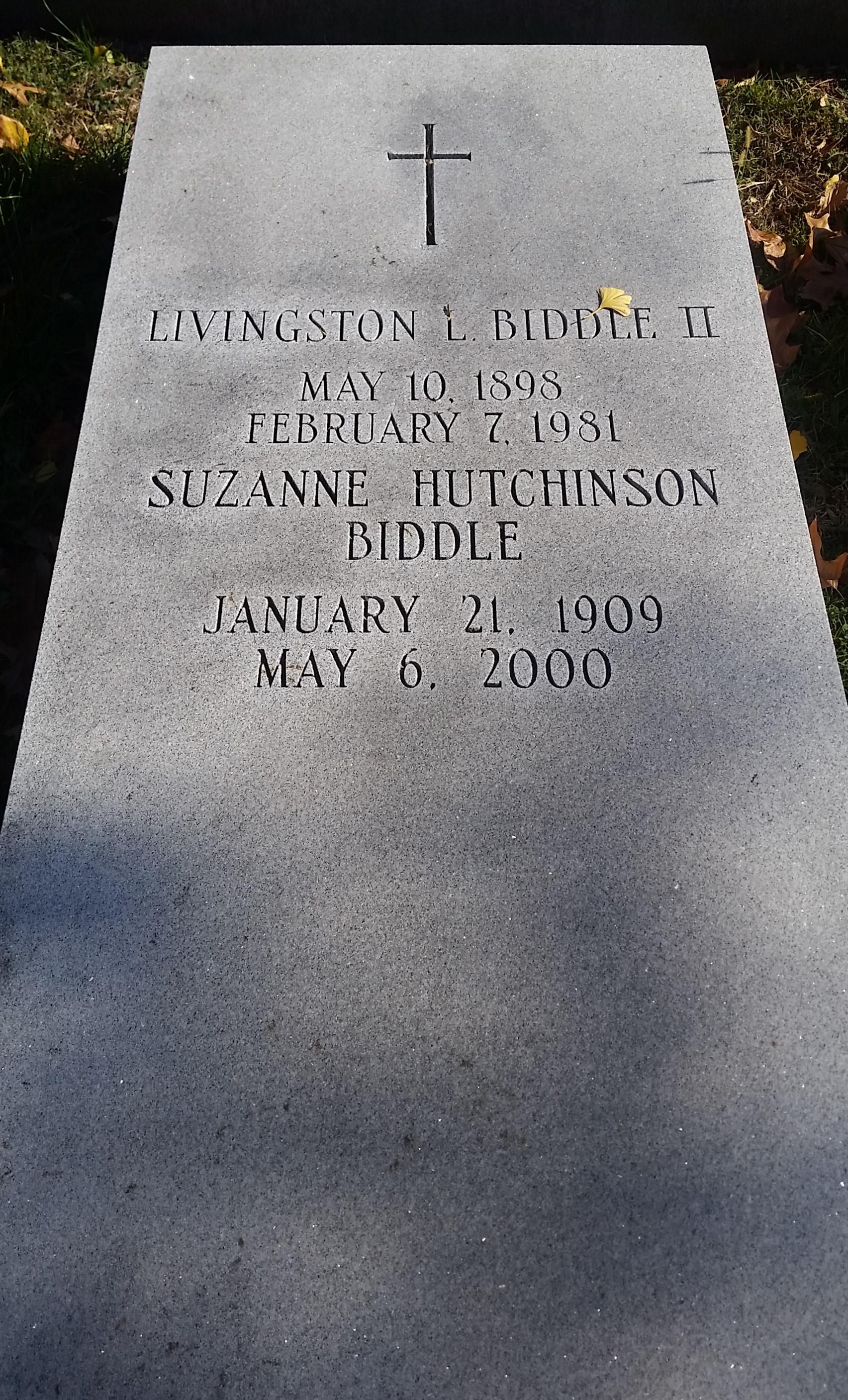 Livingston Ludlow Biddle, II