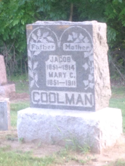 Mary C. <i>Musser</i> Coolman