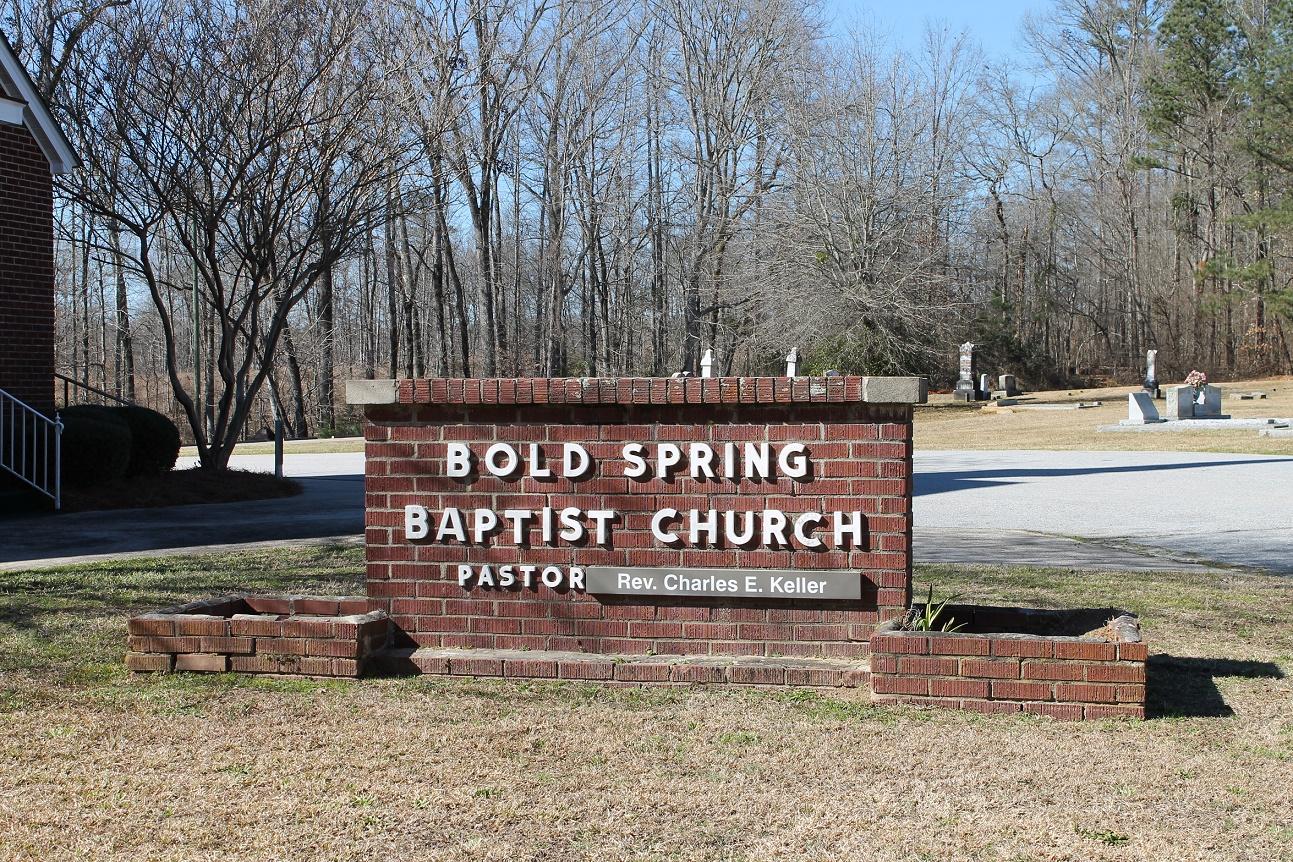 Bold Spring Baptist Church Cemetery