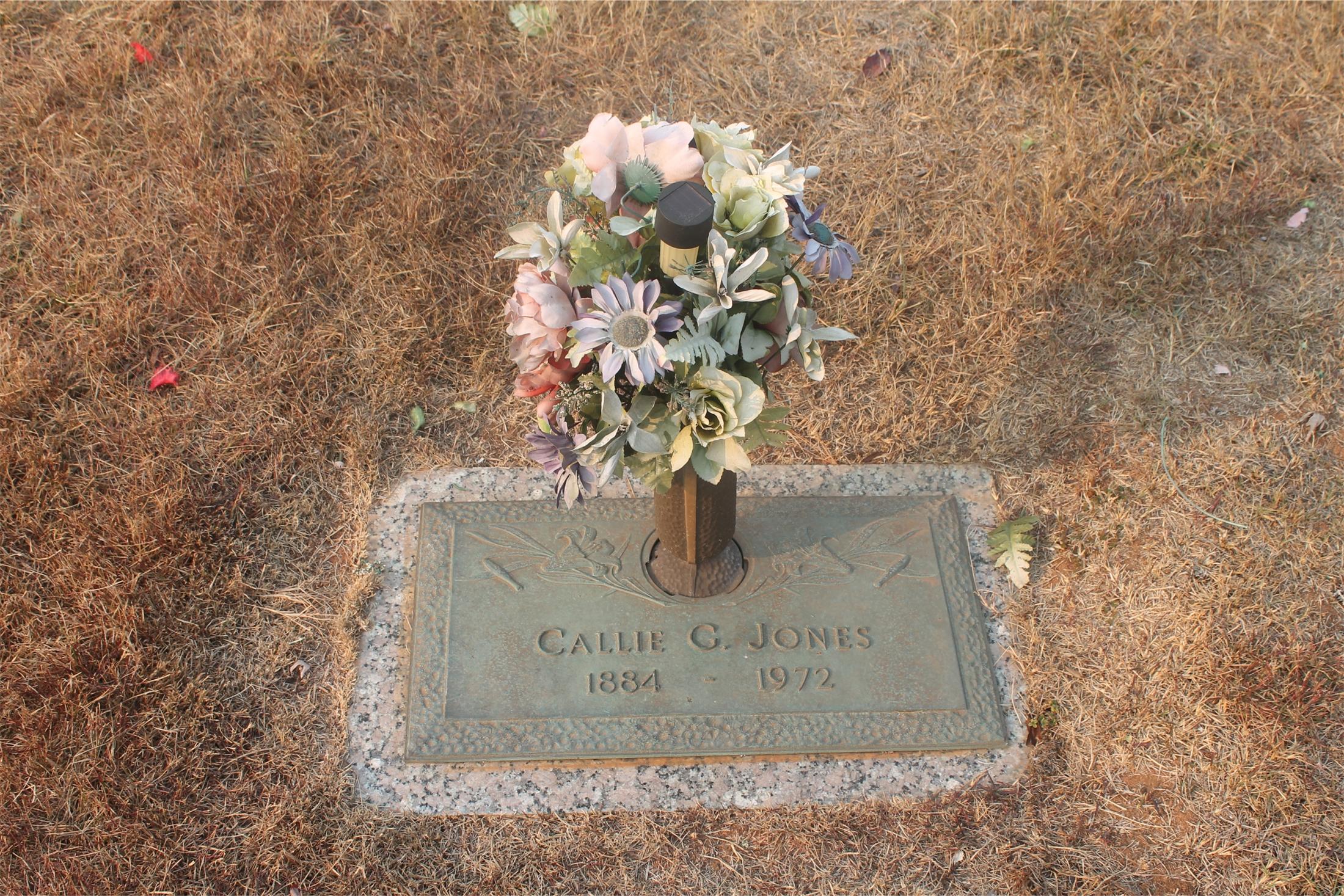 Callie Donna Viena Grice Jones (1884-1972) - Find A Grave Memorial
