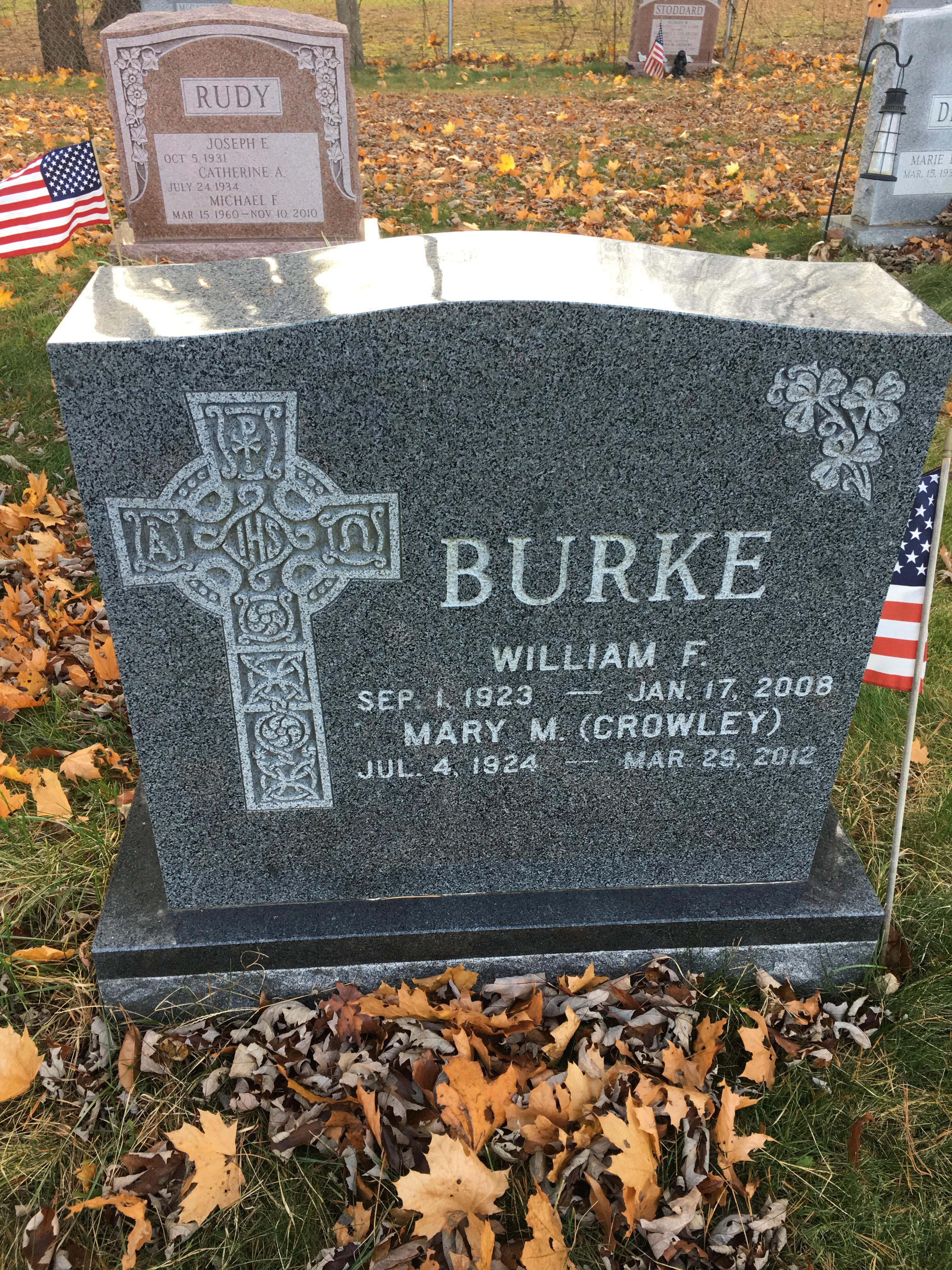 Mary Margaret <i>Crowley</i> Burke