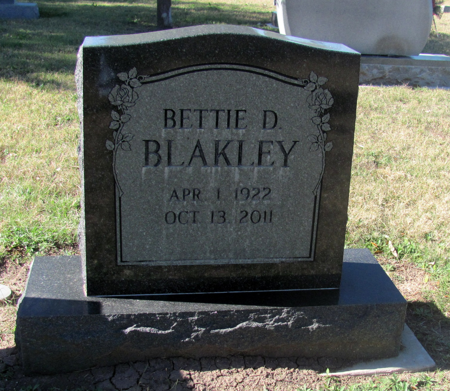 Bettie Dicie Blakley